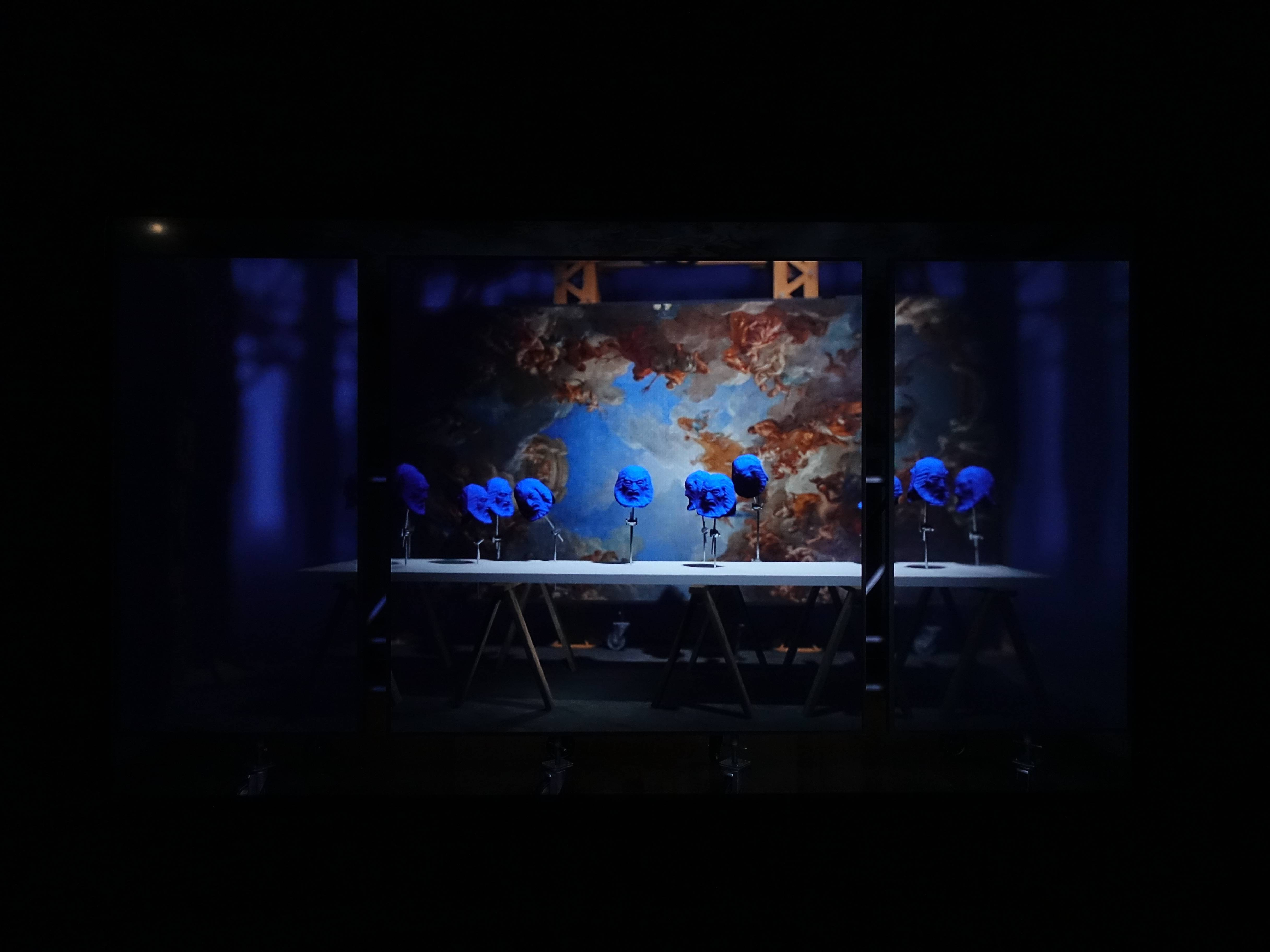 Florian Claar,《聲音的樂章》,06'15,HD video單頻錄像,2017。