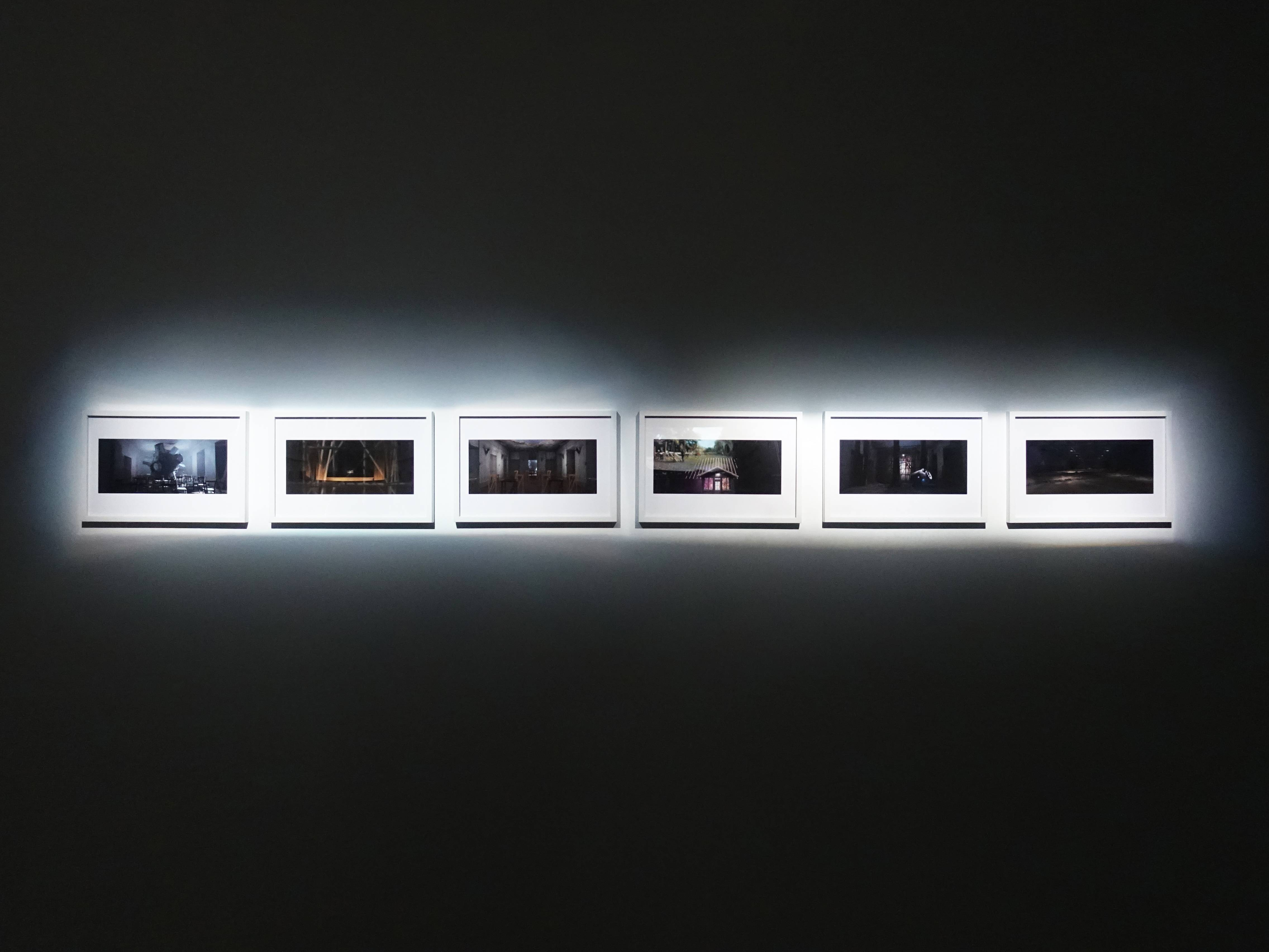 Florian Claar展出《Wanderer Frame 漫遊者》影格系列。