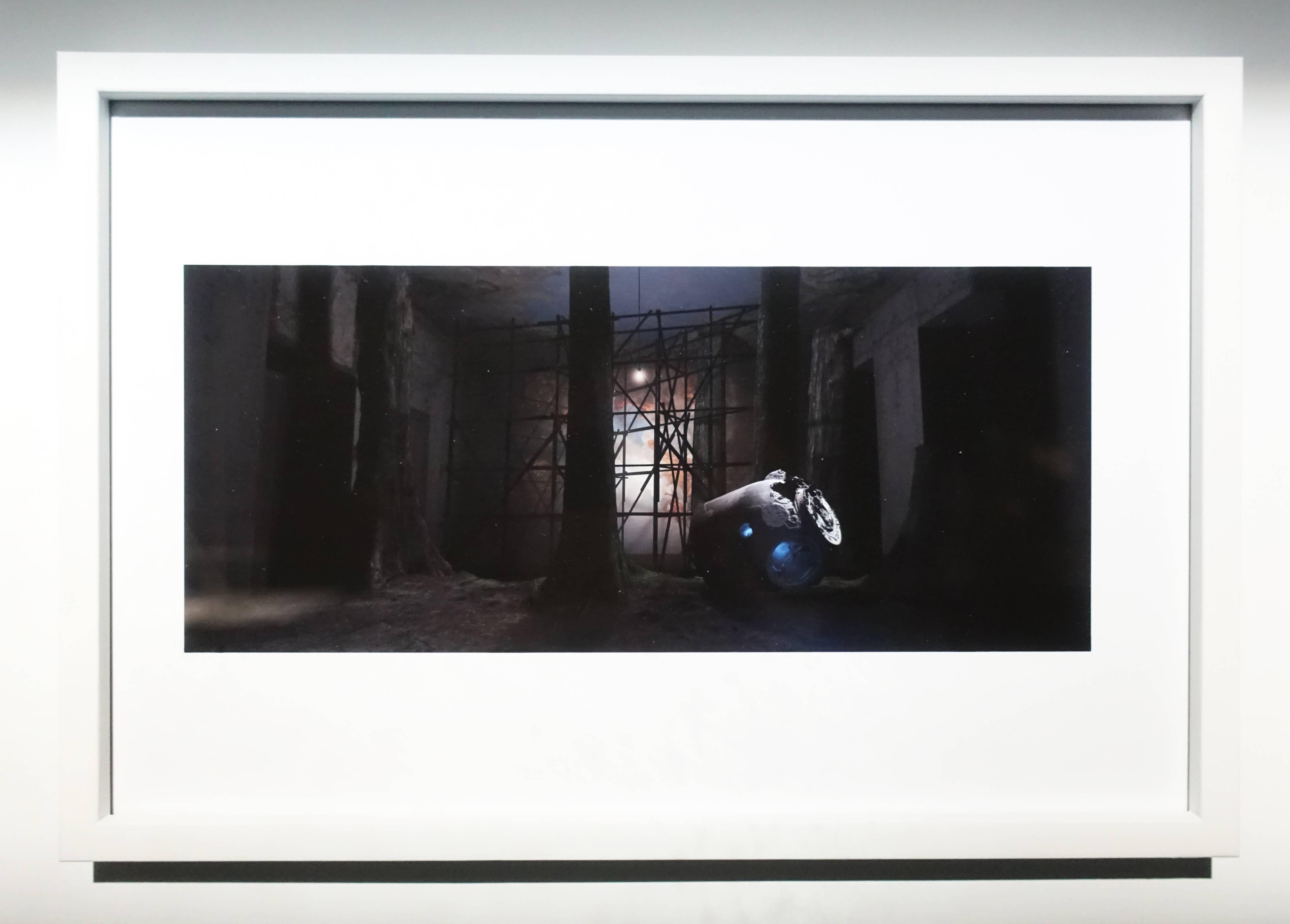 Florian Claar,《Wanderer Frame No.00172 漫遊者 影格No.00172》,20 x 29.7cm,影像輸出,2019。