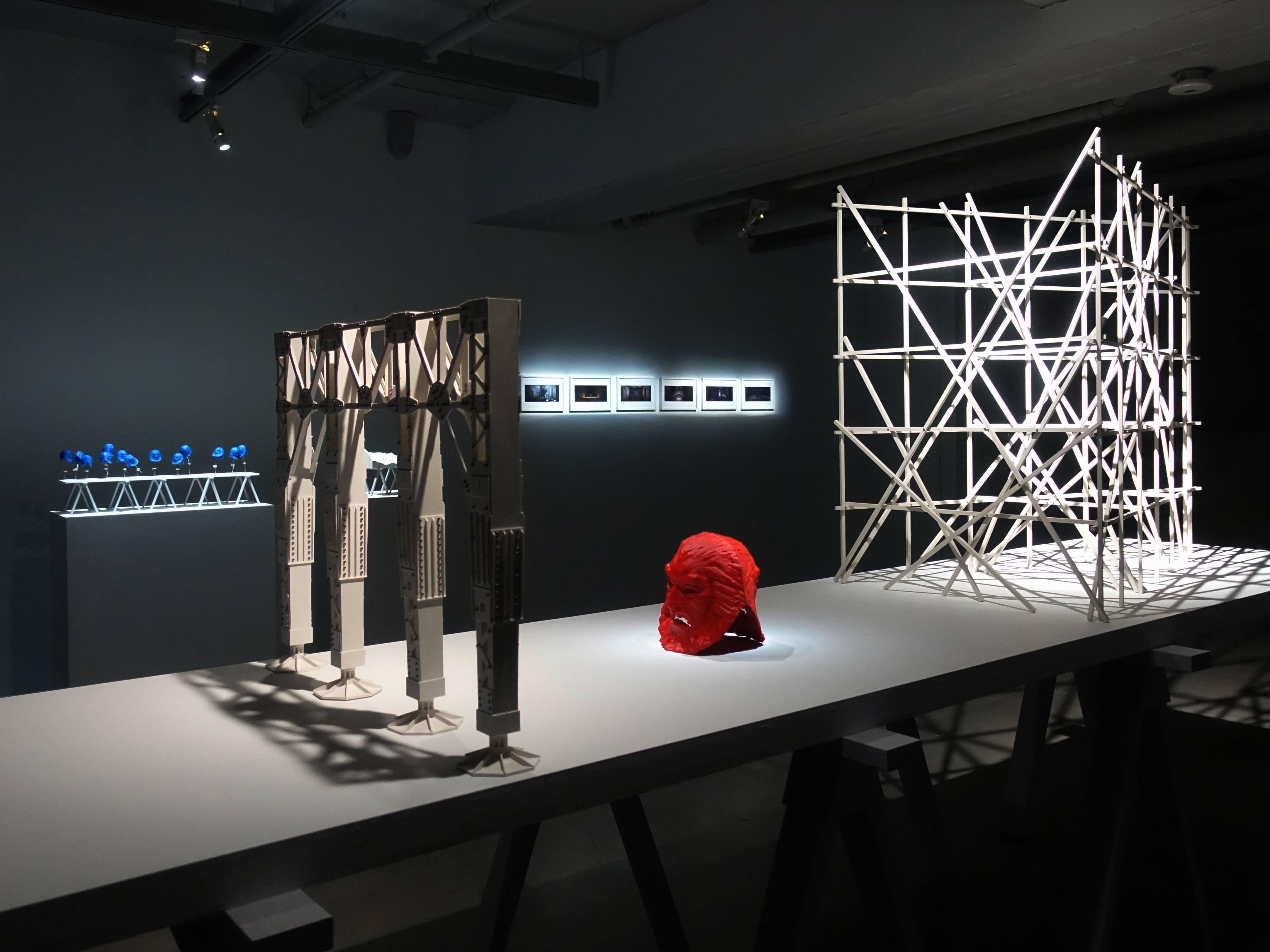 双方藝廊展覽空間。