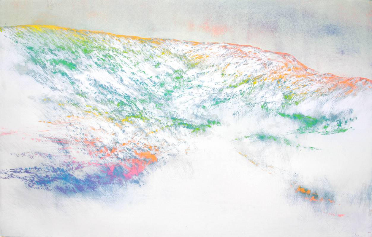 游雅蘭 Rainbow Mountain 2018 50×80cm