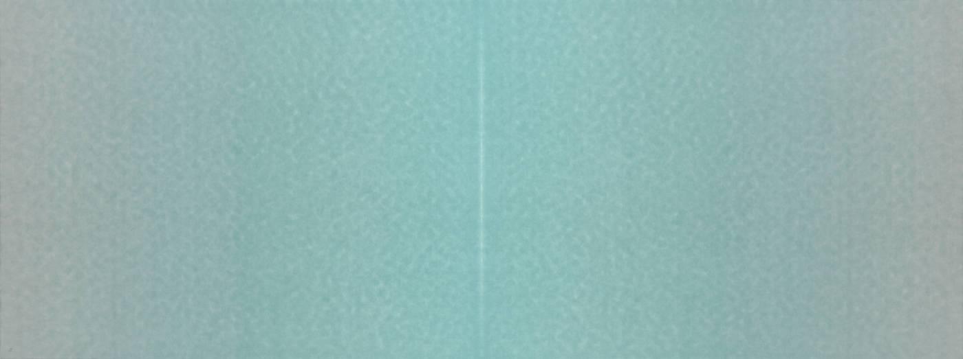 田衛 TIAN Wei 翠微山之一 Mount. CuiWei No.1墨、礦物質顏料、水彩、宣紙 Ink, Mineral pigment and Watercolor on Paper89x238cm2018