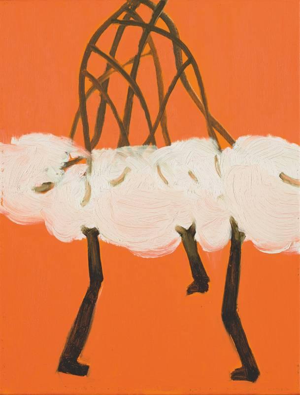 晶萌系列之三, 41x31.5cm, 油彩、畫布, 2016