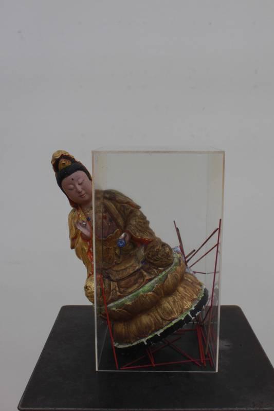 謝衡《色譜》紙。圖/國立台灣藝術大學雕塑學系提供