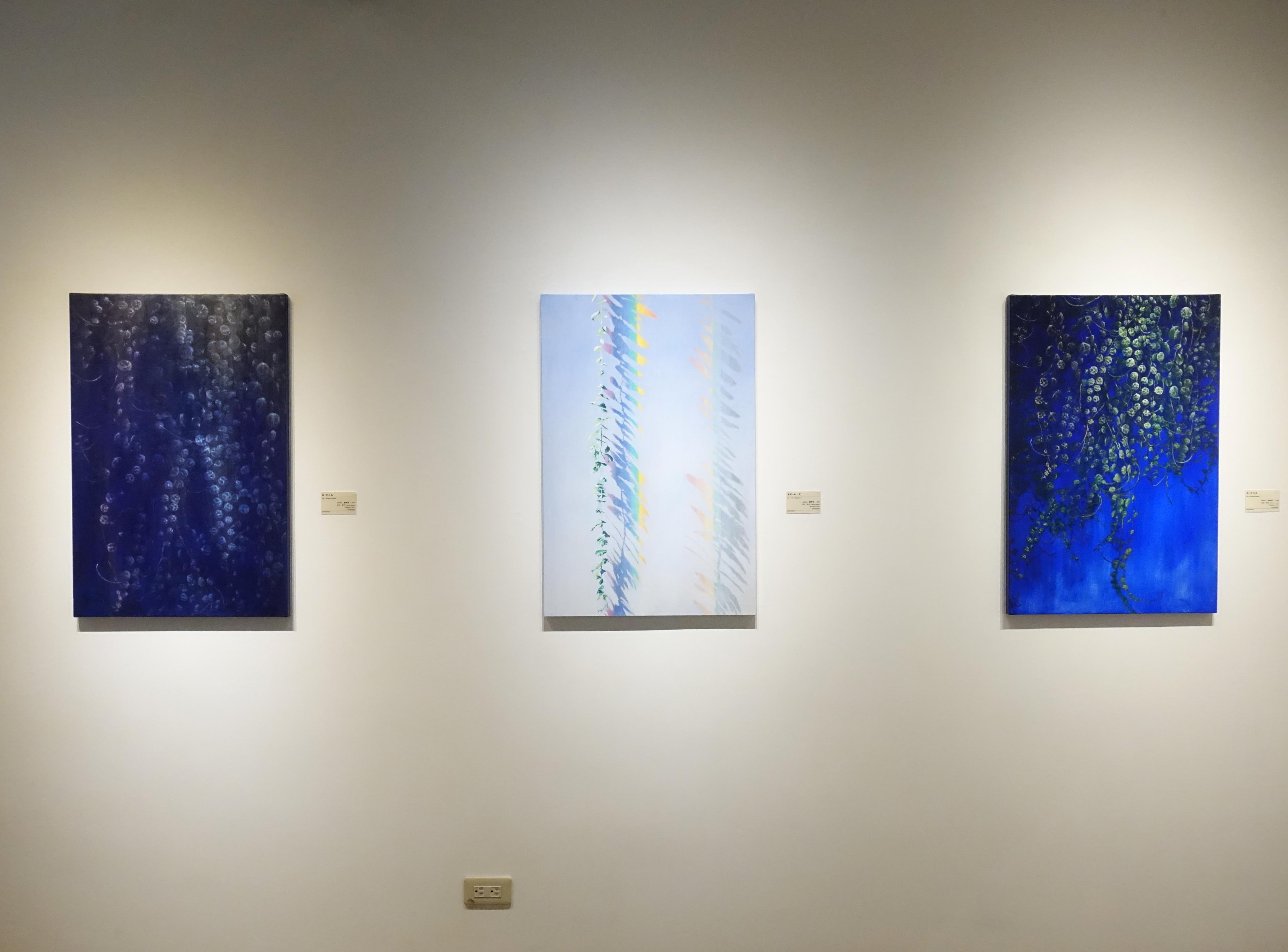 得藝美術館展出劉韋岑、曾雅玲 雙聯展「光之絮語」。