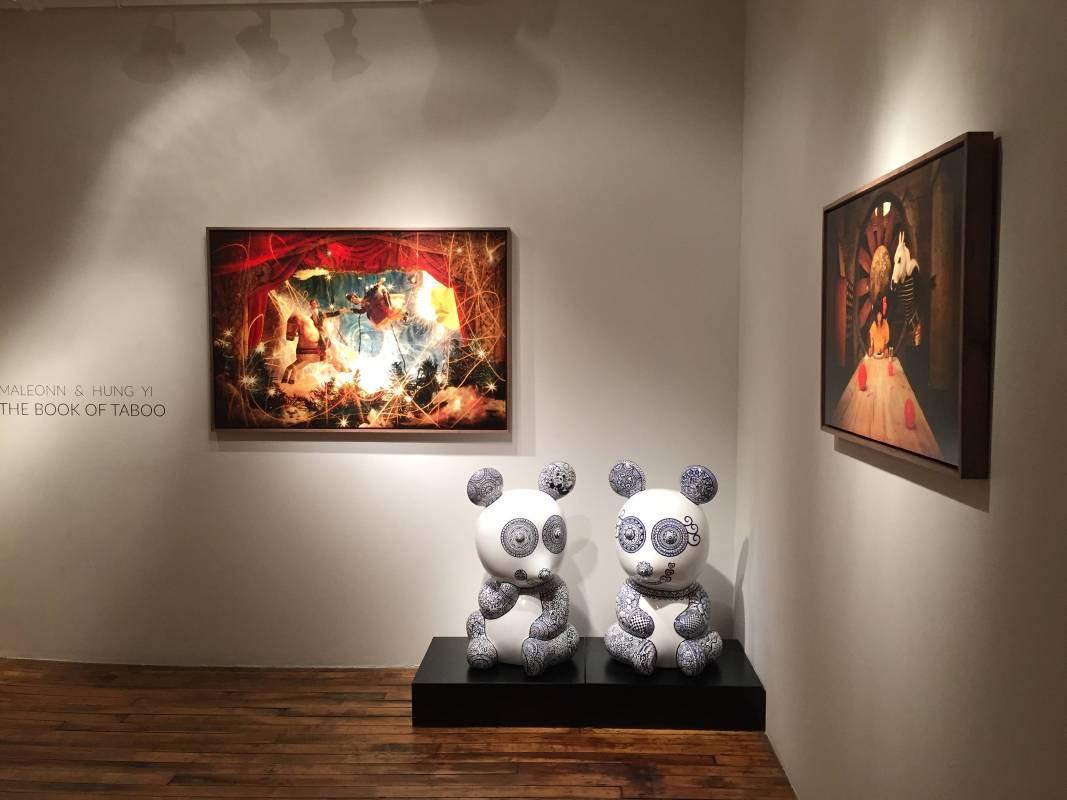 洪易與中國當代藝術家馬良於Emmanuel Fremin Gallery舉行雙個展