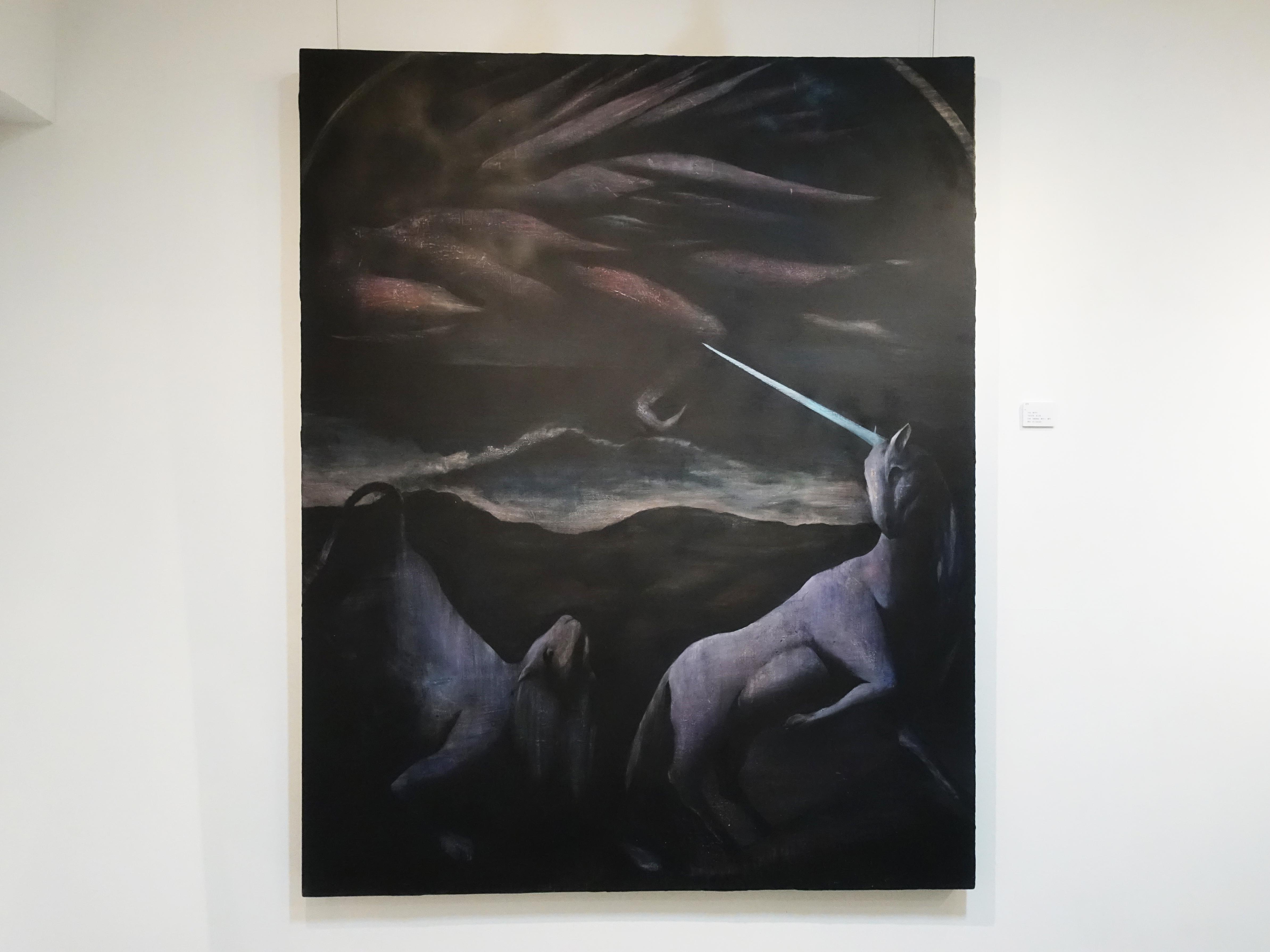 CC Gallery展出藝術家鄭思宇作品。