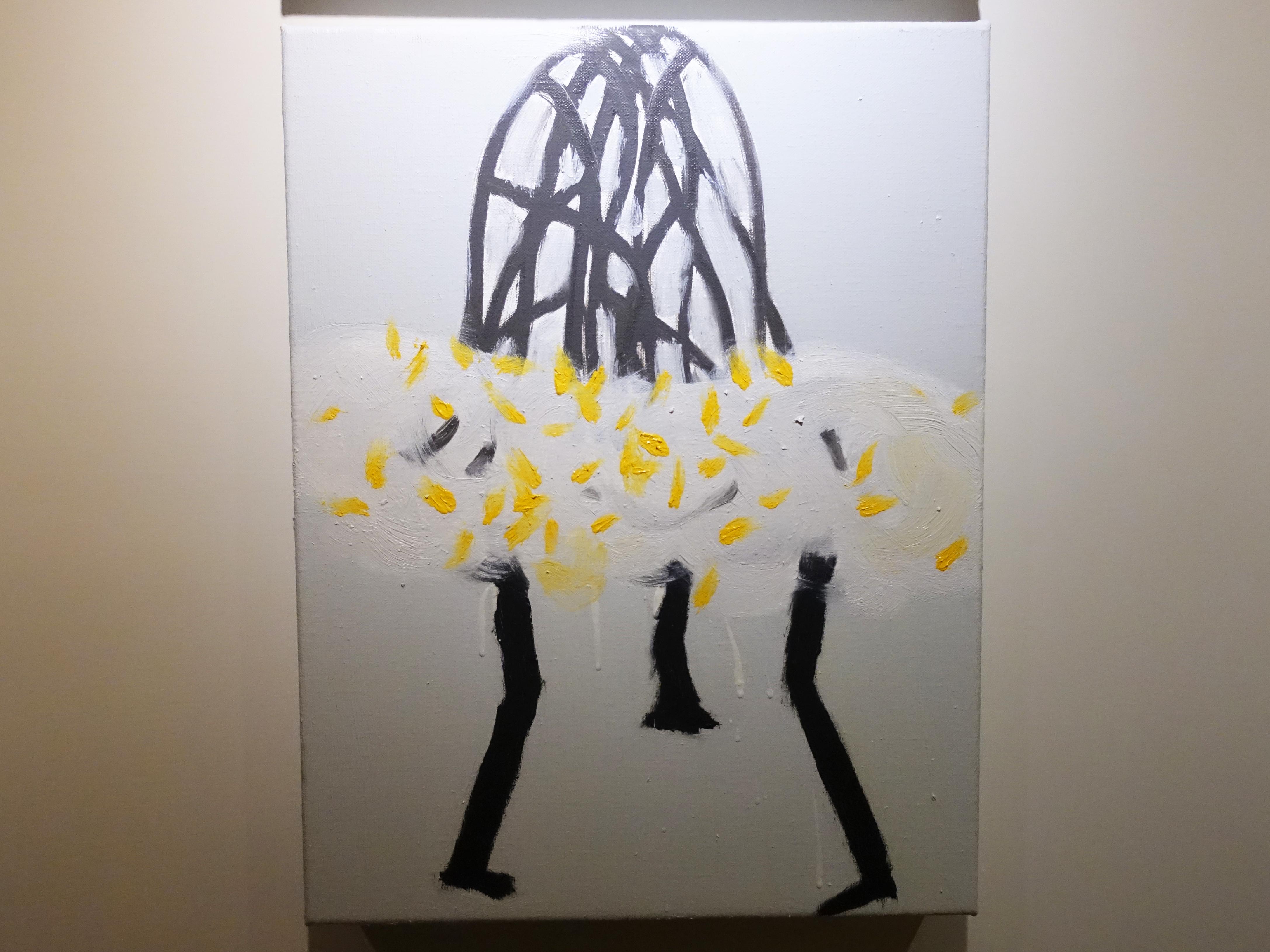劉永仁,《晶萌系列之四》,41x31.5cm,油彩、畫布,2016。