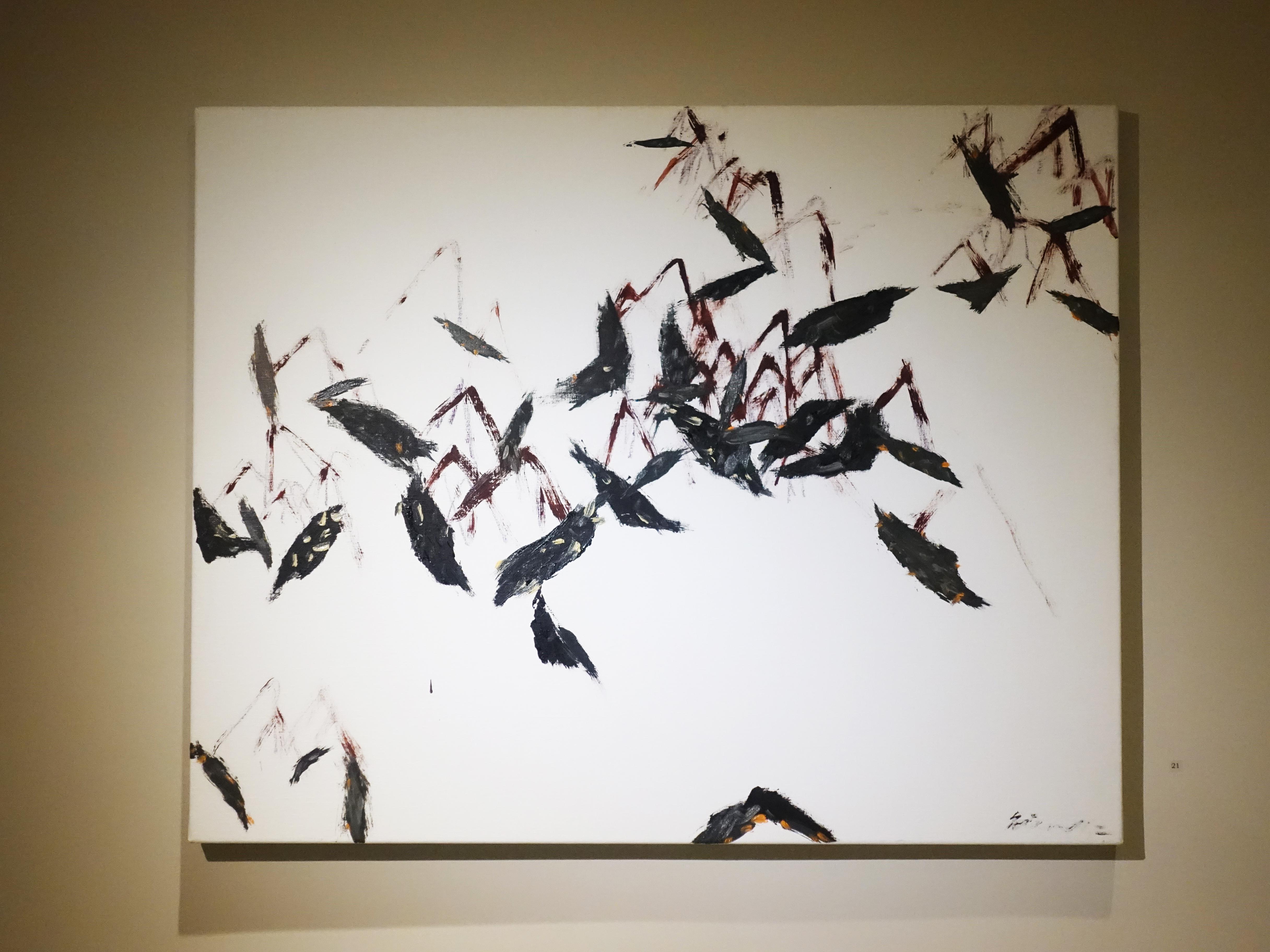 藝術家劉永仁創作作品。