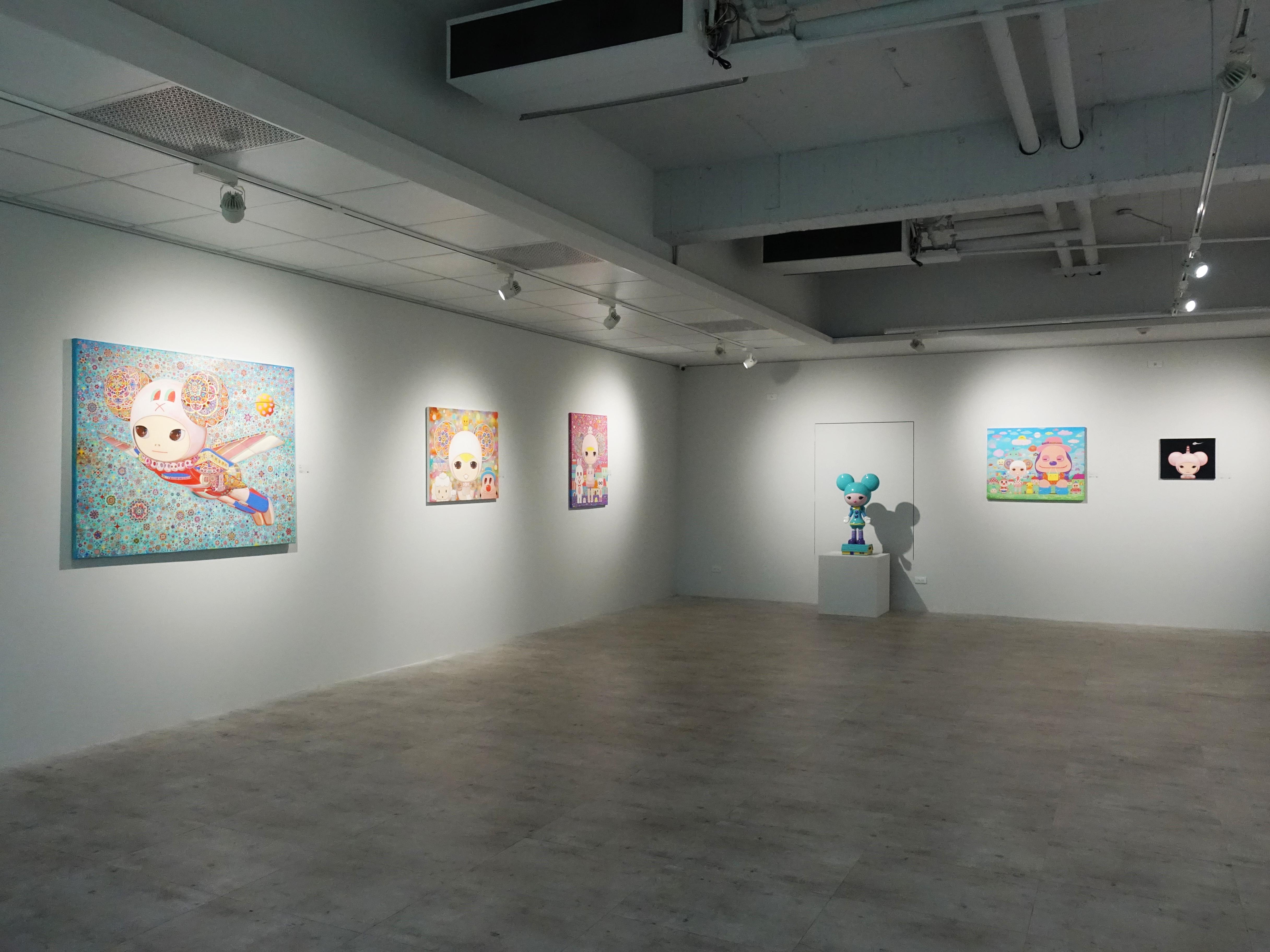 宛儒畫廊展覽空間。
