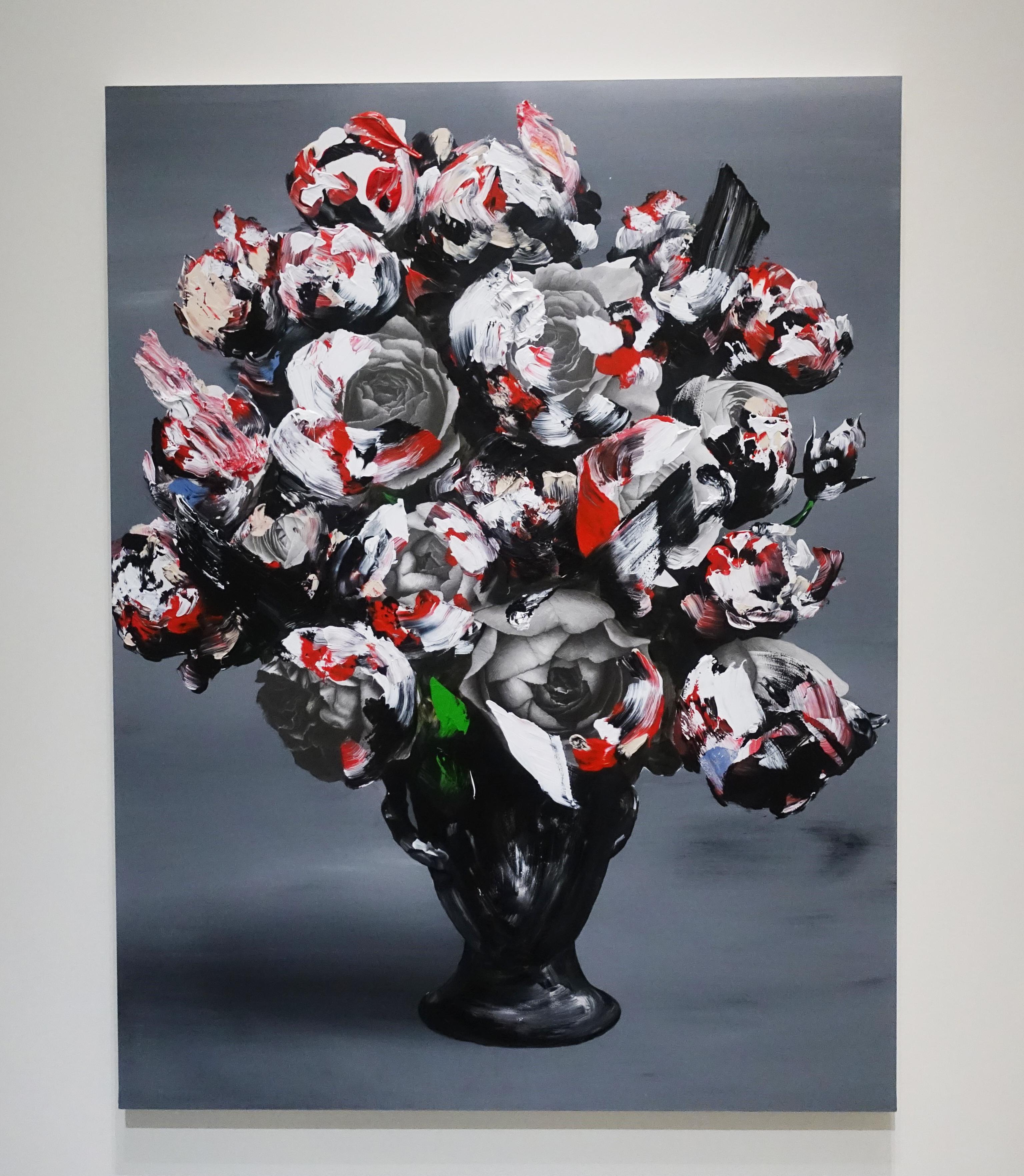 佐藤誠高,《Celebration 2》,140 x 107 cm,鉛筆、壓克力、紙、木板,2019。