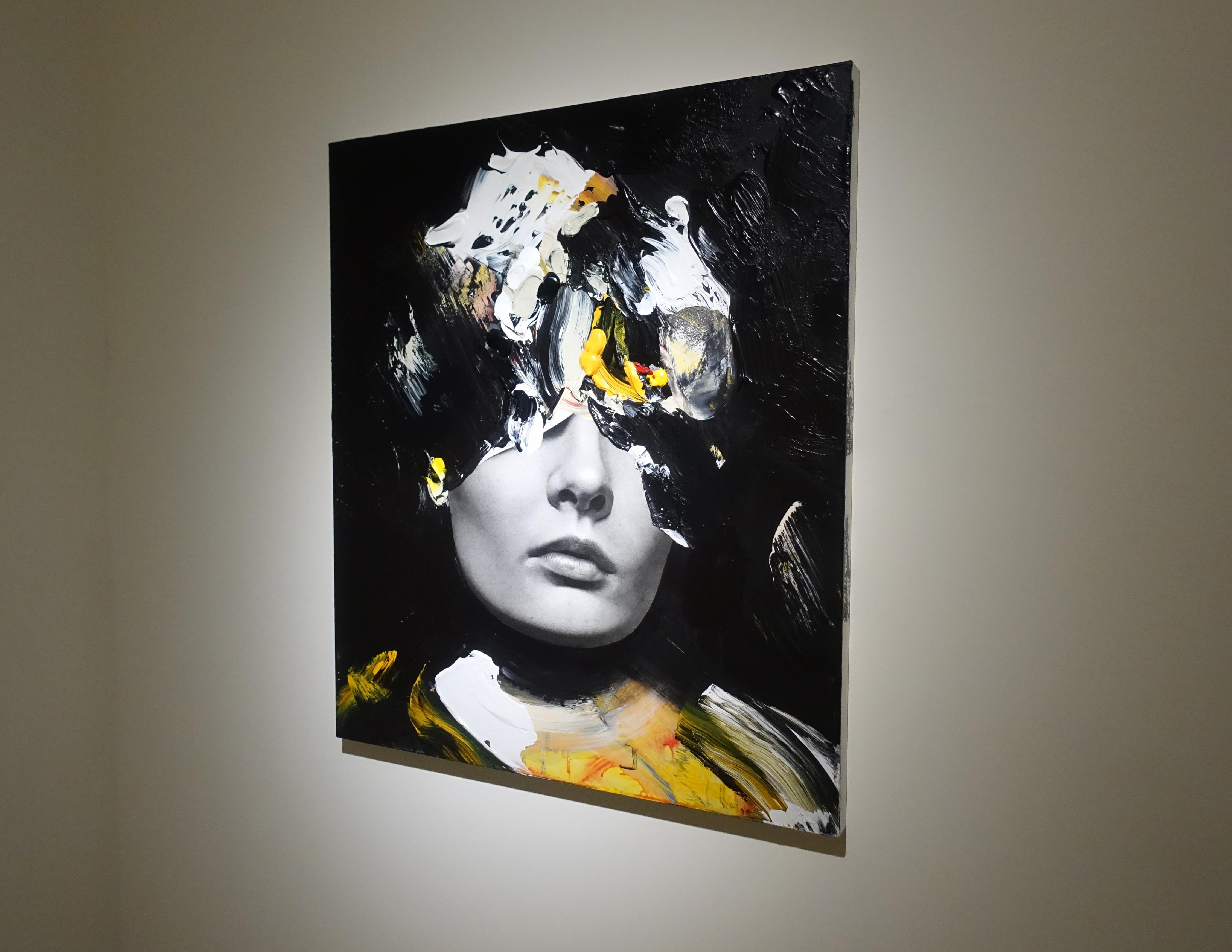 佐藤誠高,《Star》,53 x 45.5 cm,鉛筆、壓克力、紙、木板,2019。