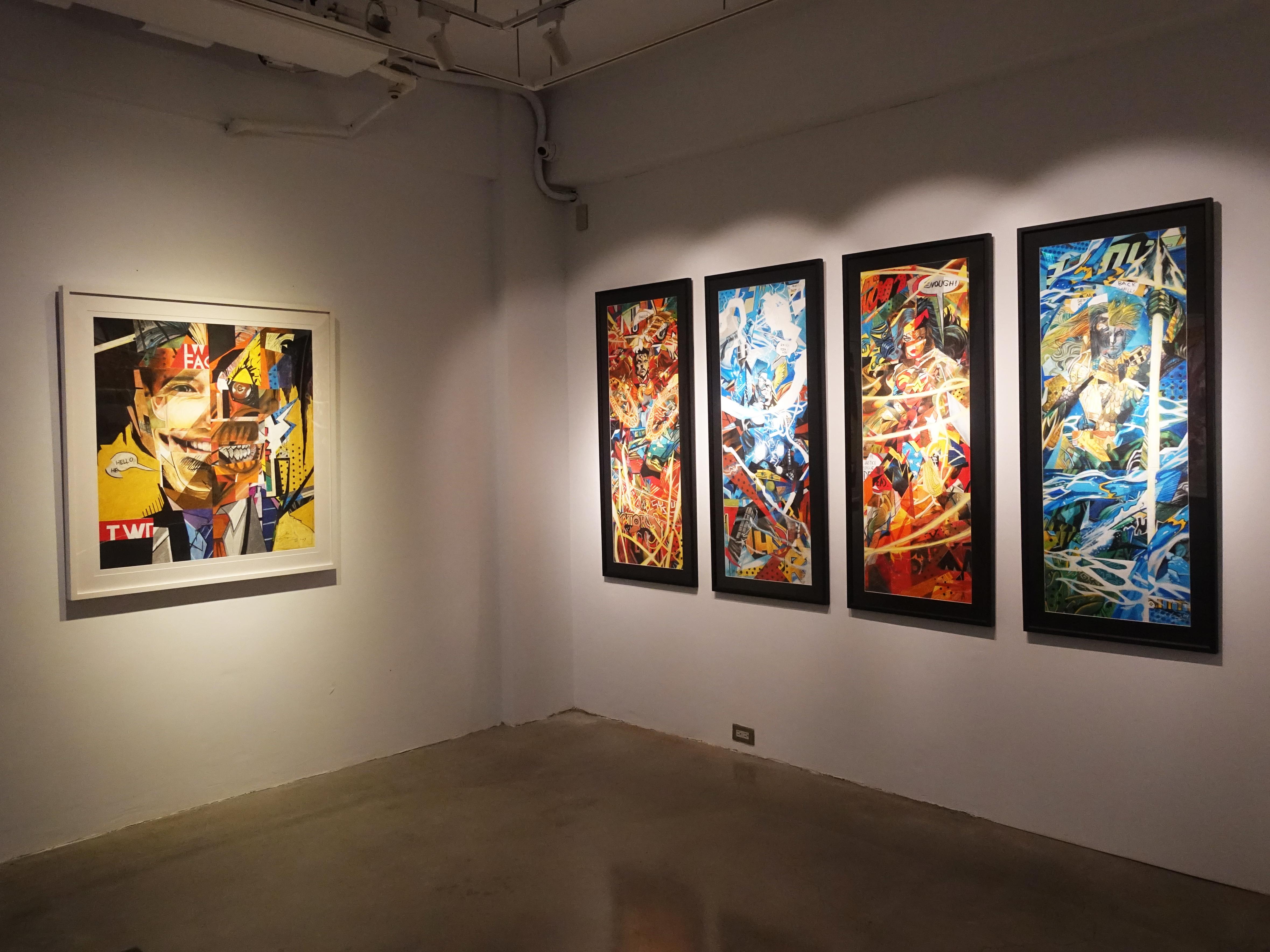 雷相畫廊展覽空間。