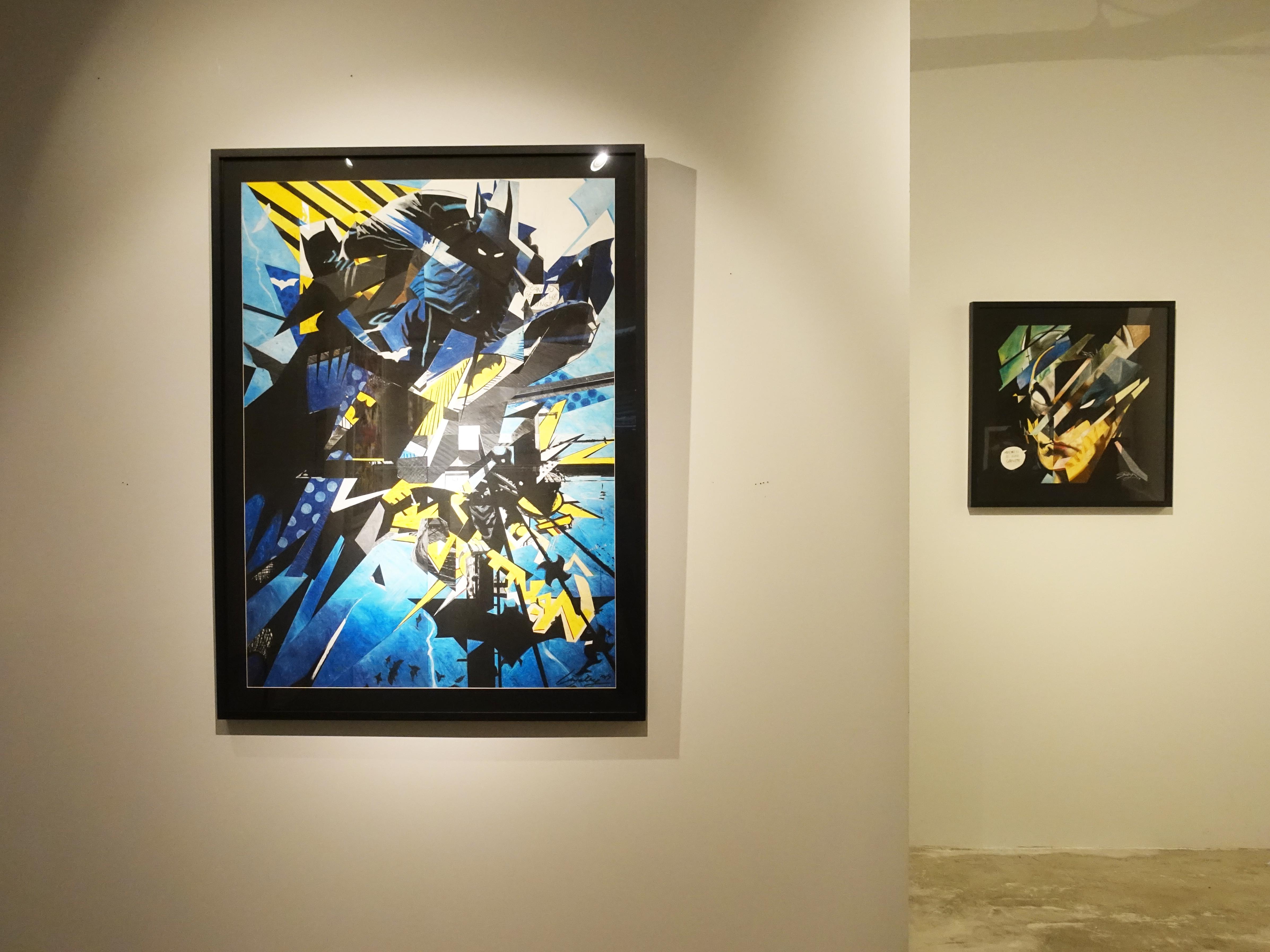 雷相畫廊展出藝術家林俊良系列作品。