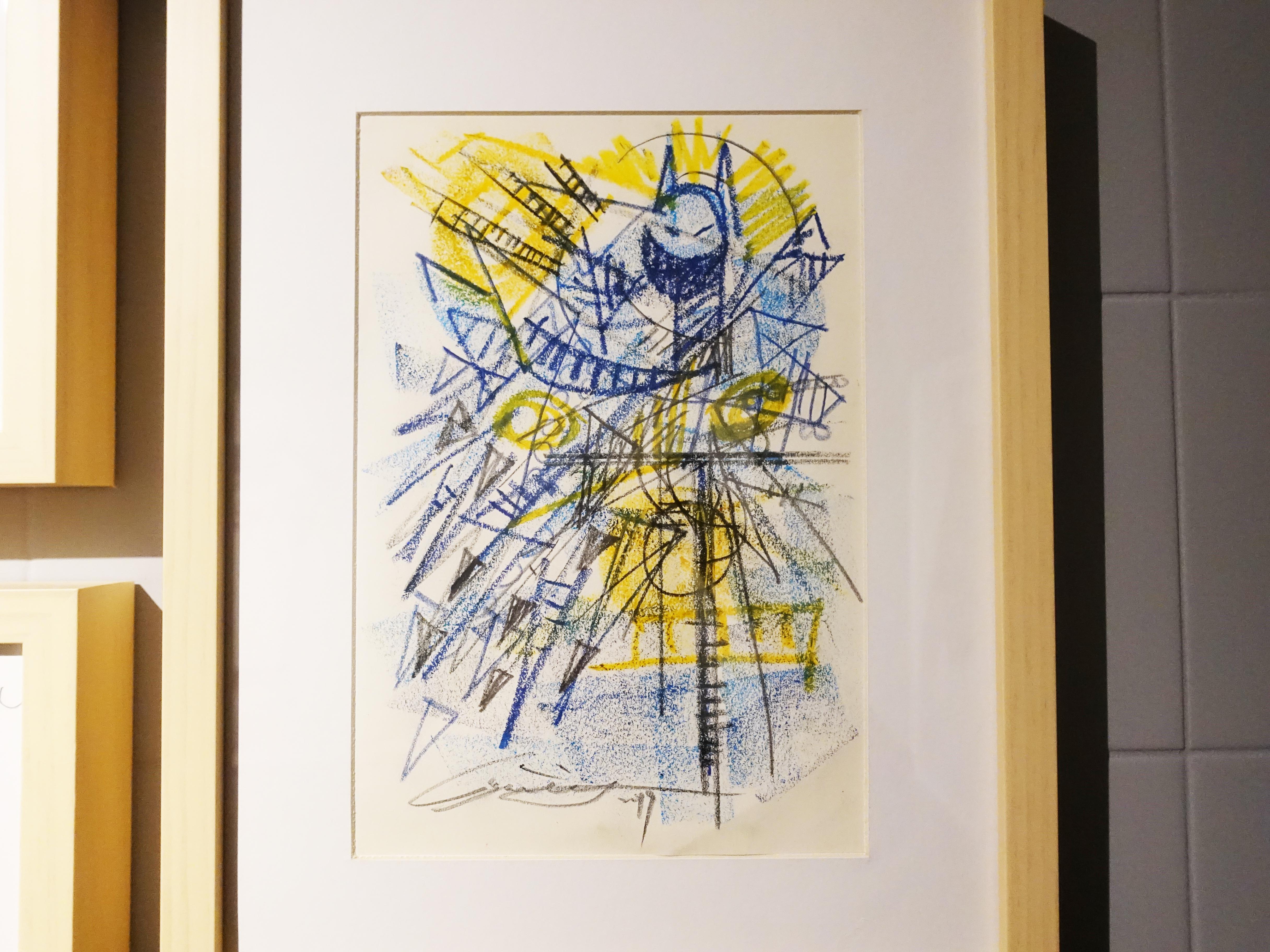雷相畫廊展出藝術家林俊良草稿系列作品。