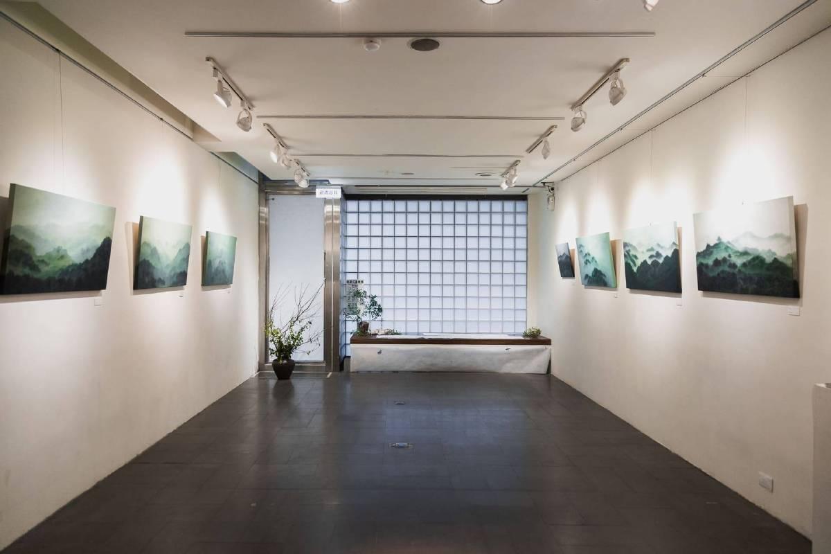 沉思的風景Meditating Landscape|洪米貞