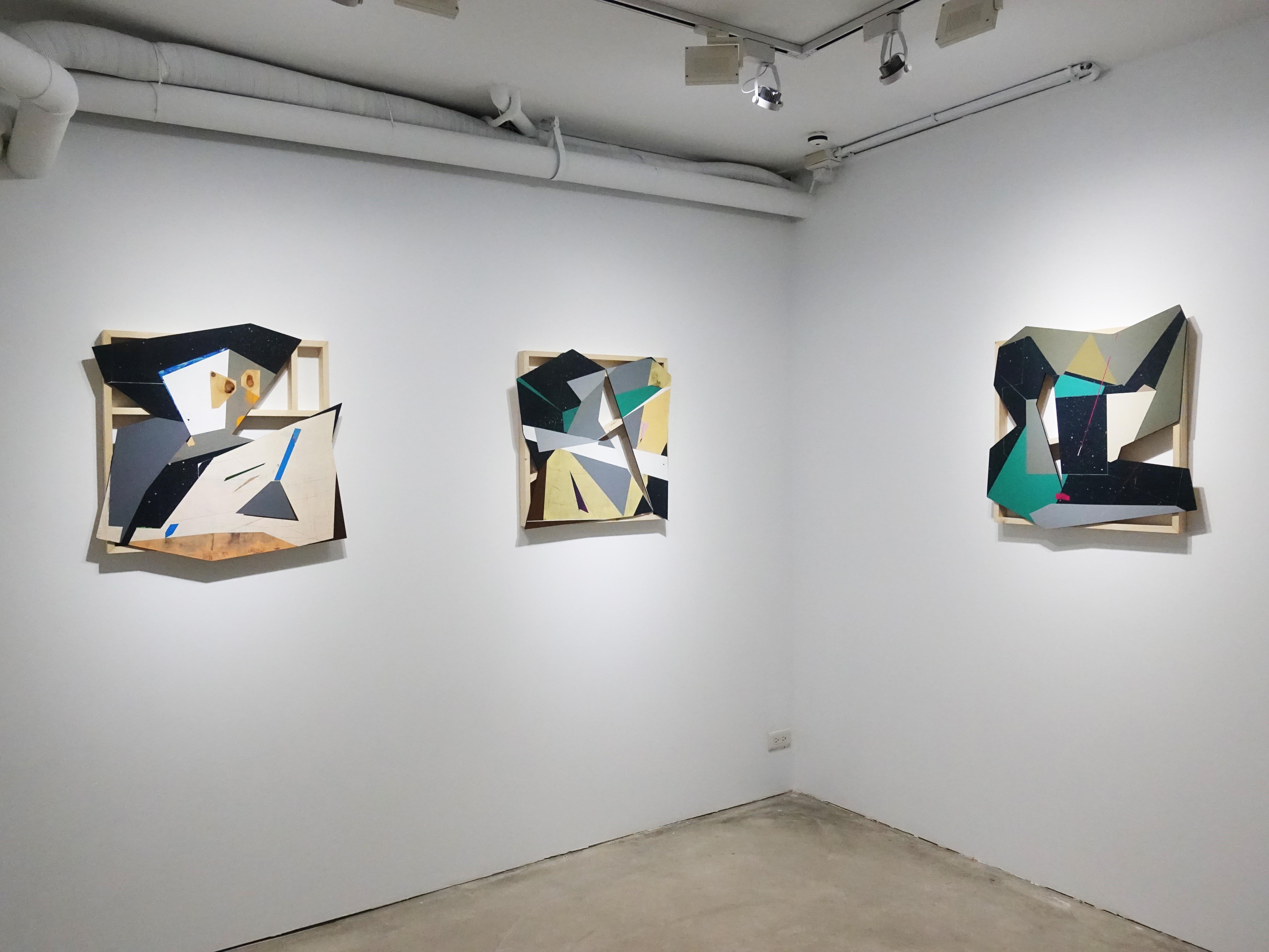 G.Gallery展出藝術家張獻文新系列作品「層敘・砌」。