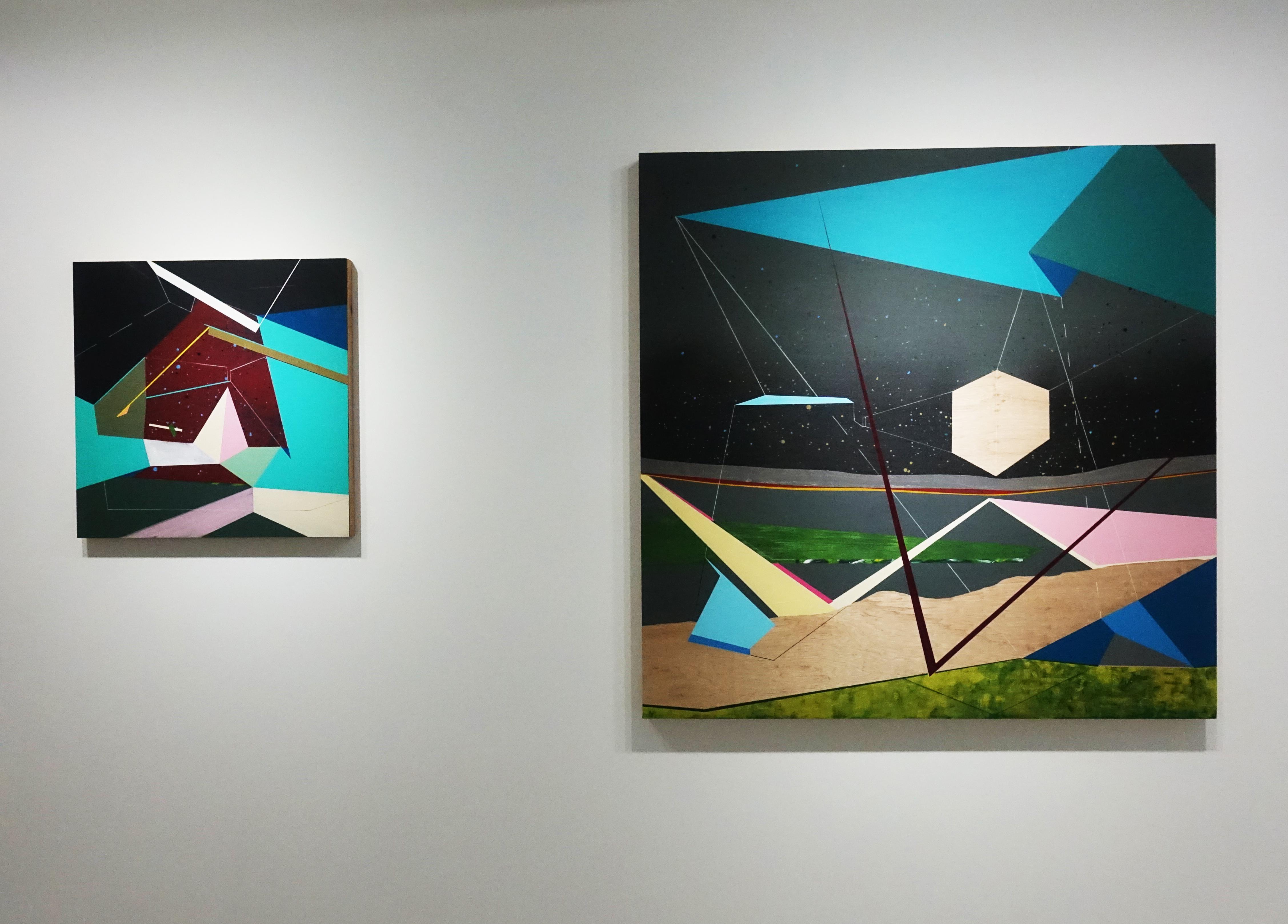 G.Gallery展出藝術家張獻文《移植∞繁殖計畫》系列作品。