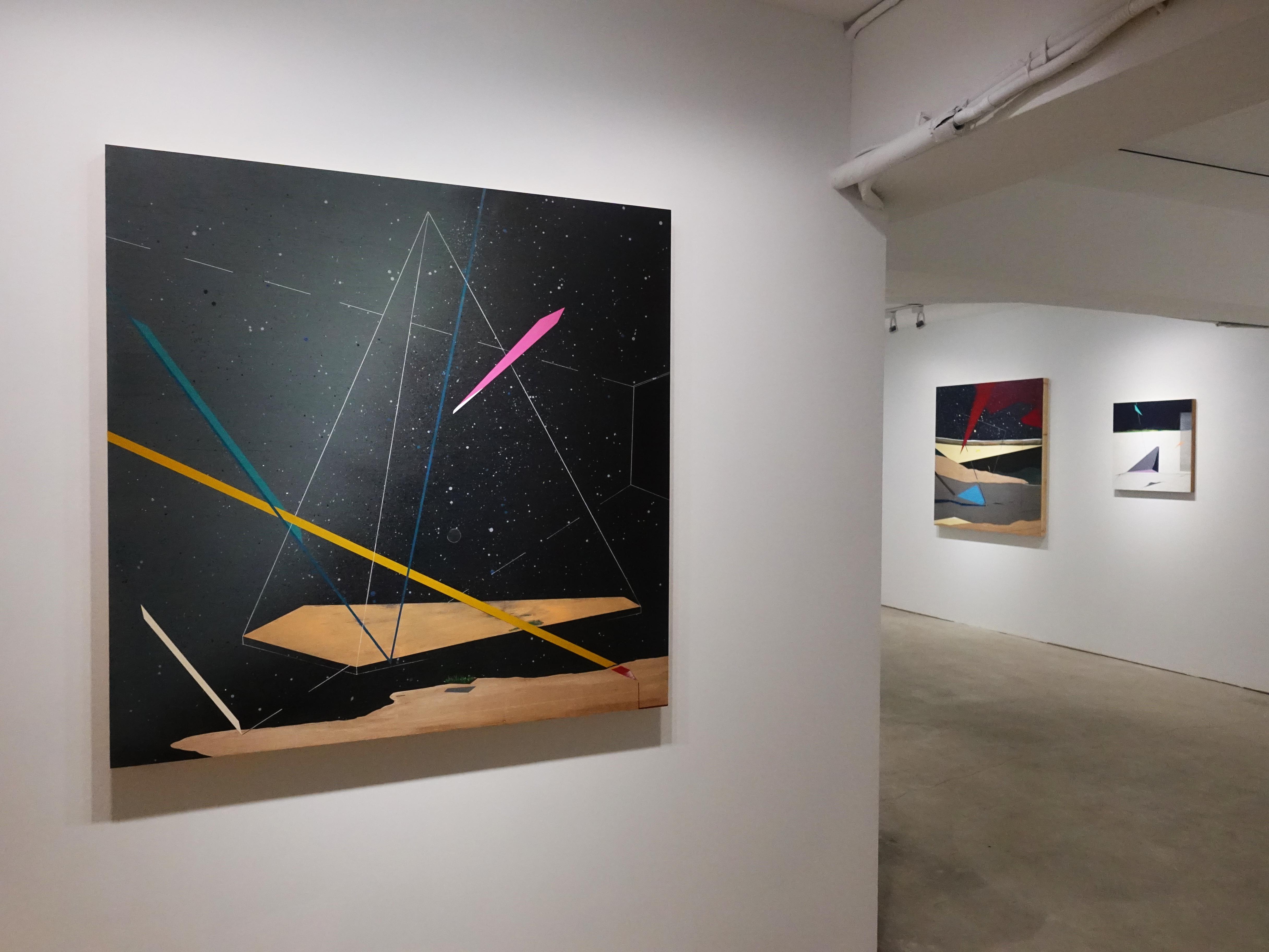 G.Gallery展出《m平方不等於》 張獻文創作個展。