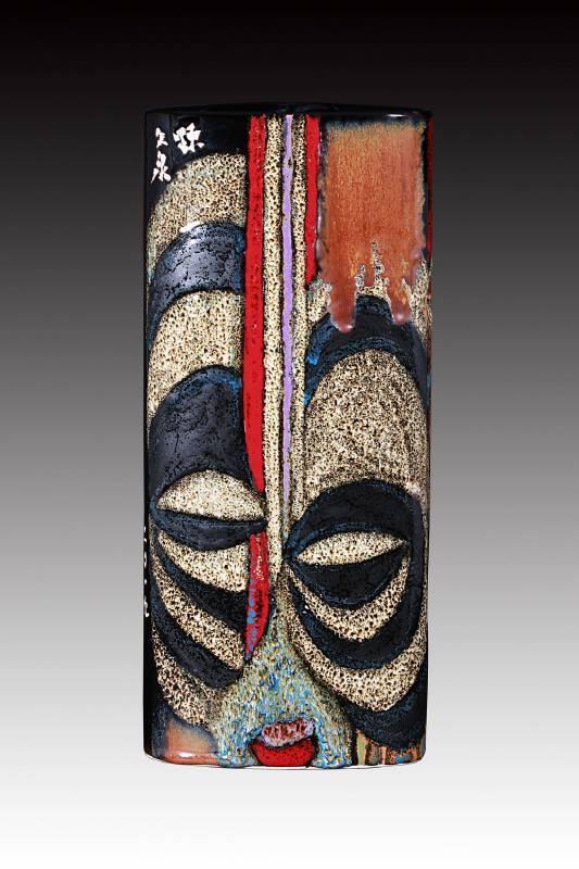 陳久泉  《非洲面具》  2019  高36cm