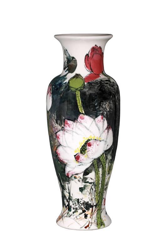 陳久泉 《荷花》  2001  高43cm