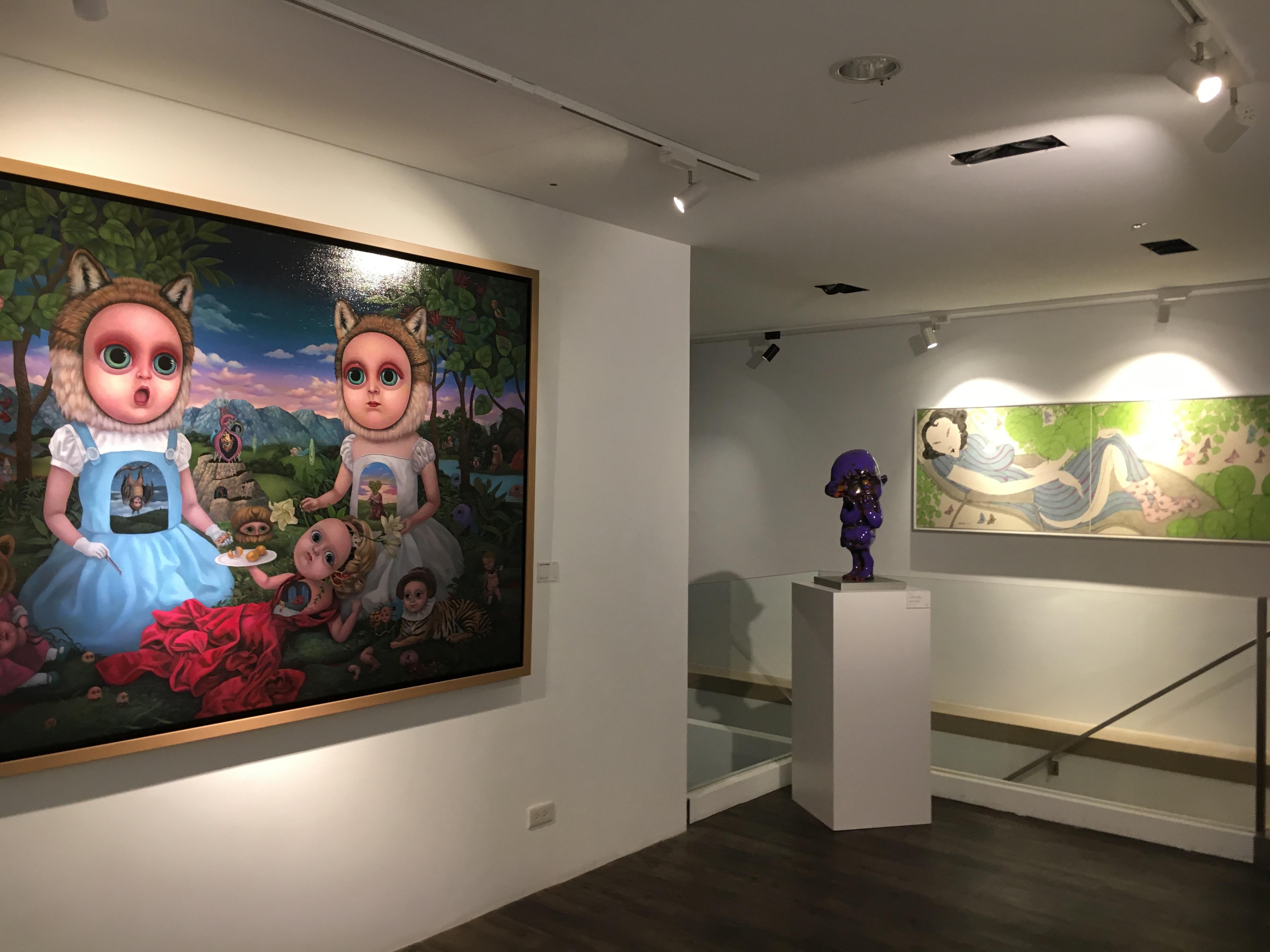 大雋藝術《覓—館藏選粹展》展覽現場。