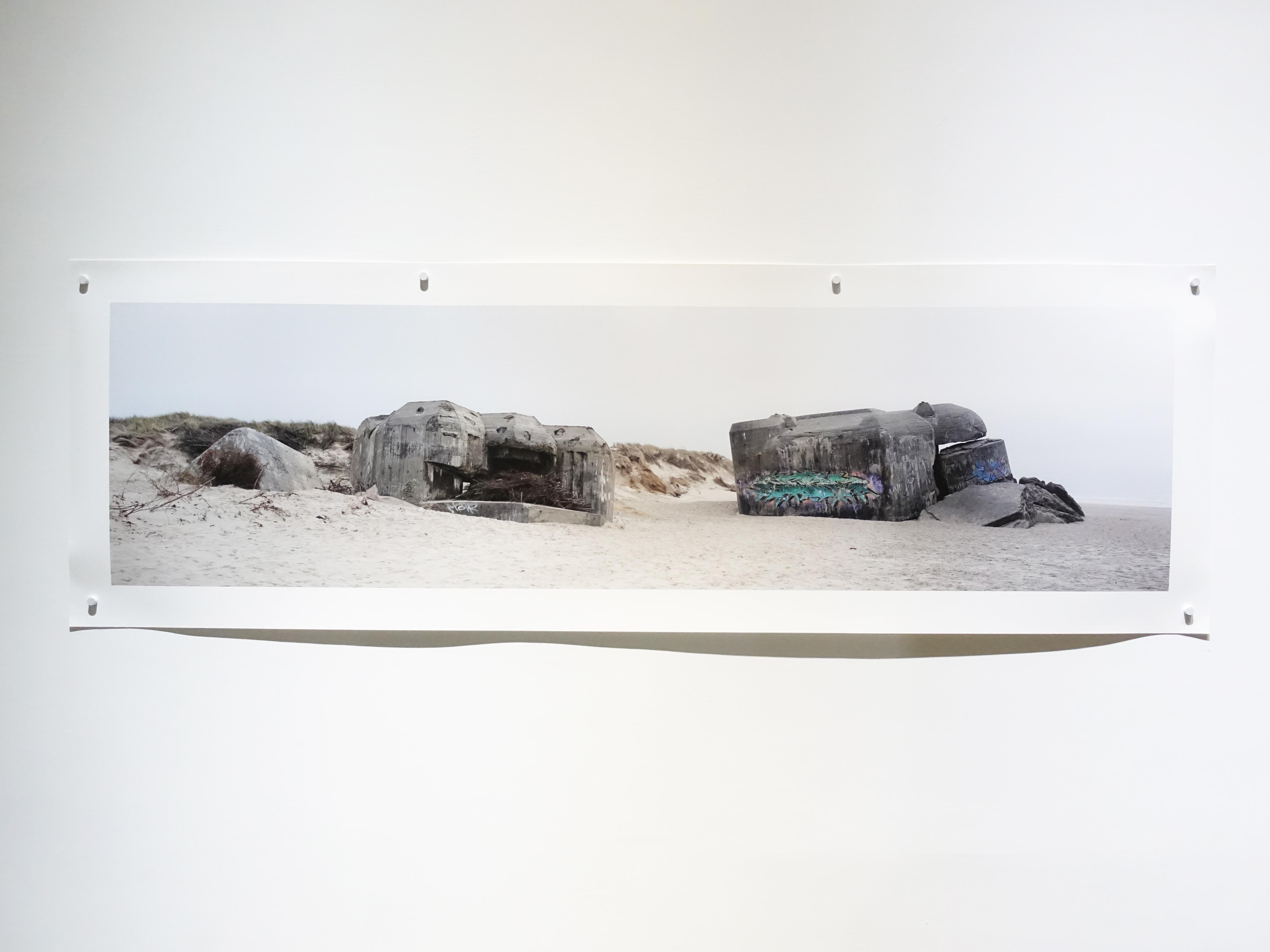 劉芸怡,《下沉的記憶Xll》,52 X162 cm,藝術微噴在德國Hahnemühle藝術紙,2019。