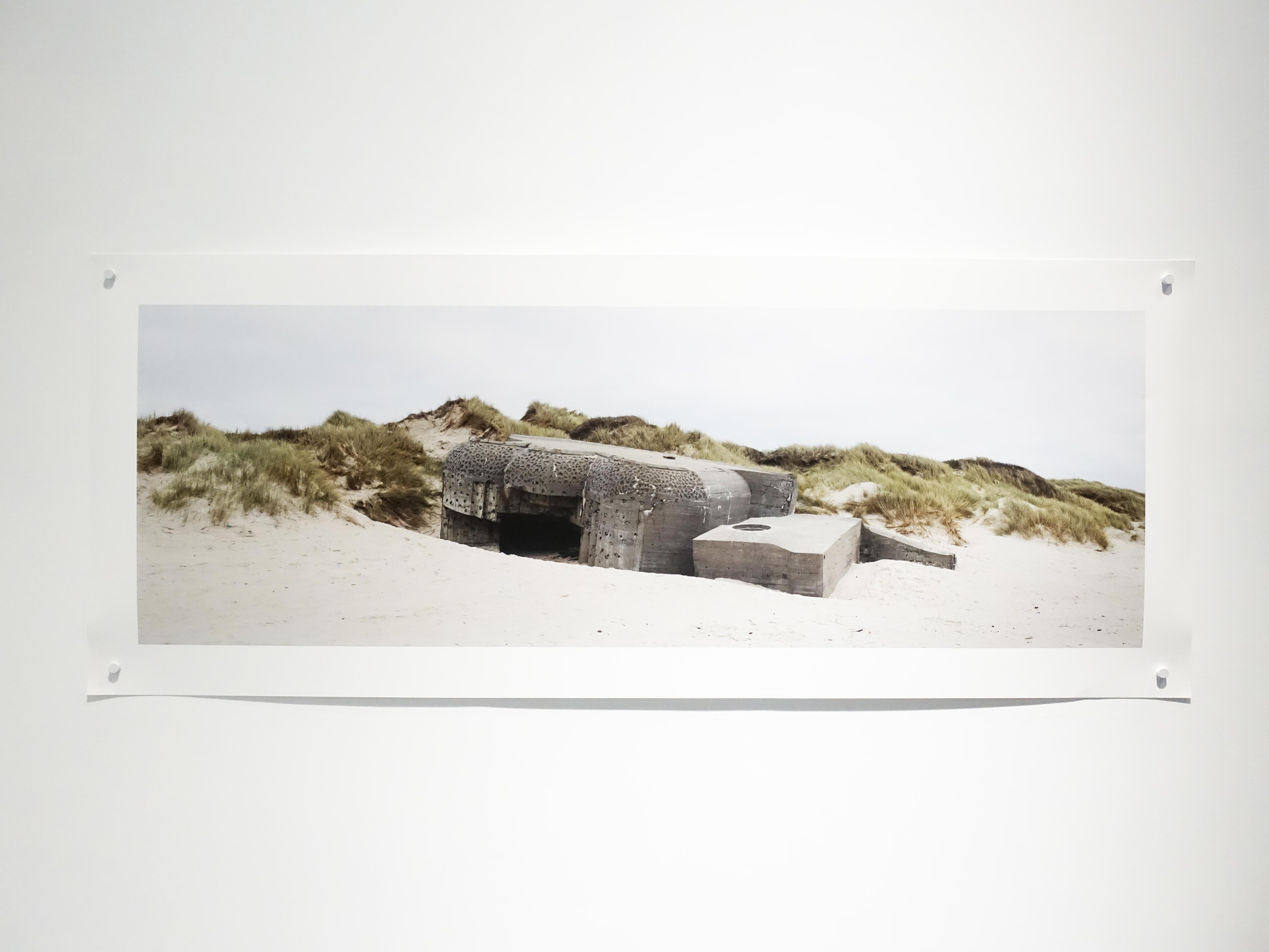 劉芸怡,《歷史造景-崩落的碉堡I》,112 X 166 cm,藝術微噴在Canson白金棉相紙,2018。
