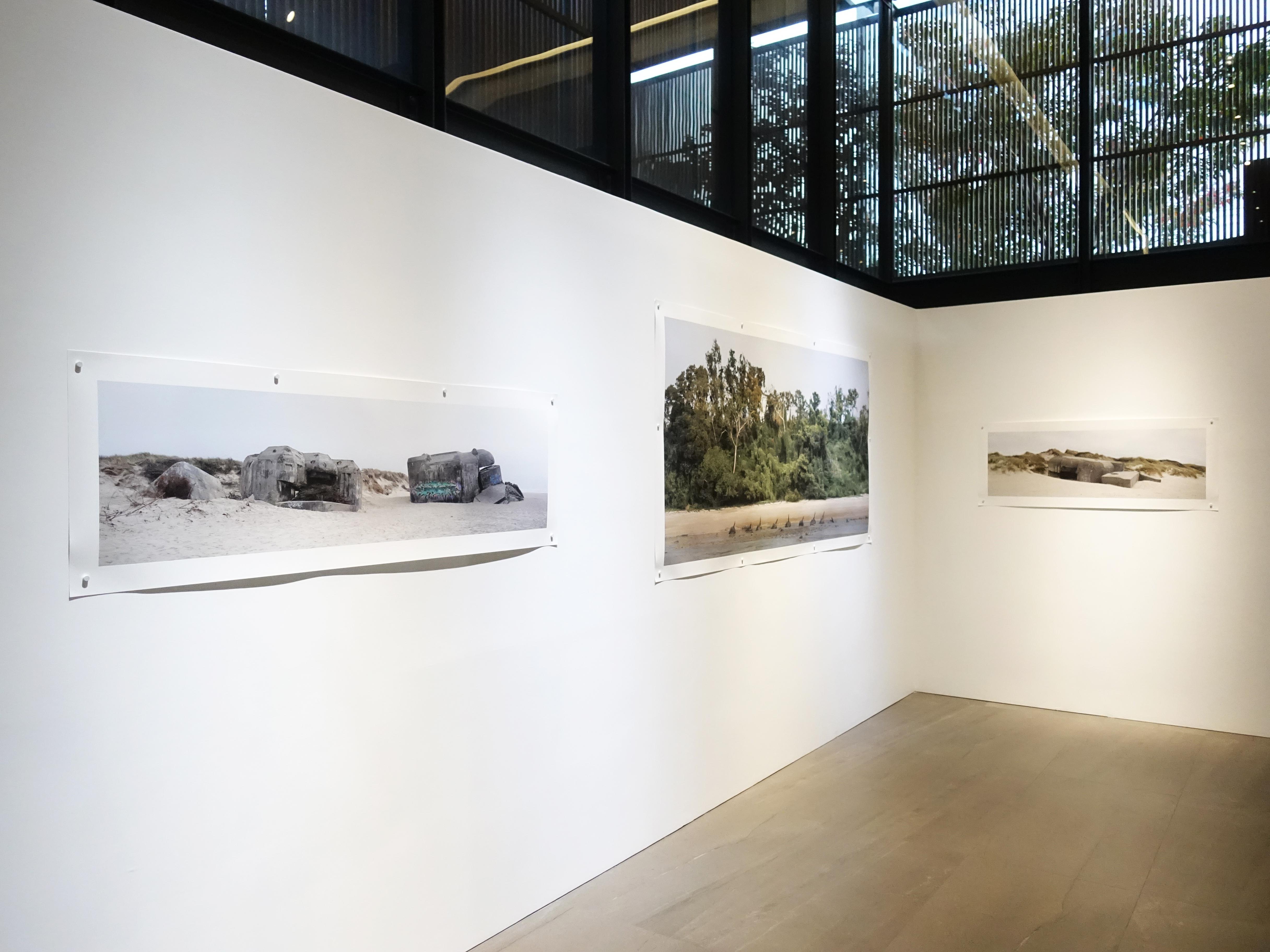 劉芸怡個展『歷史造景』展覽空間。