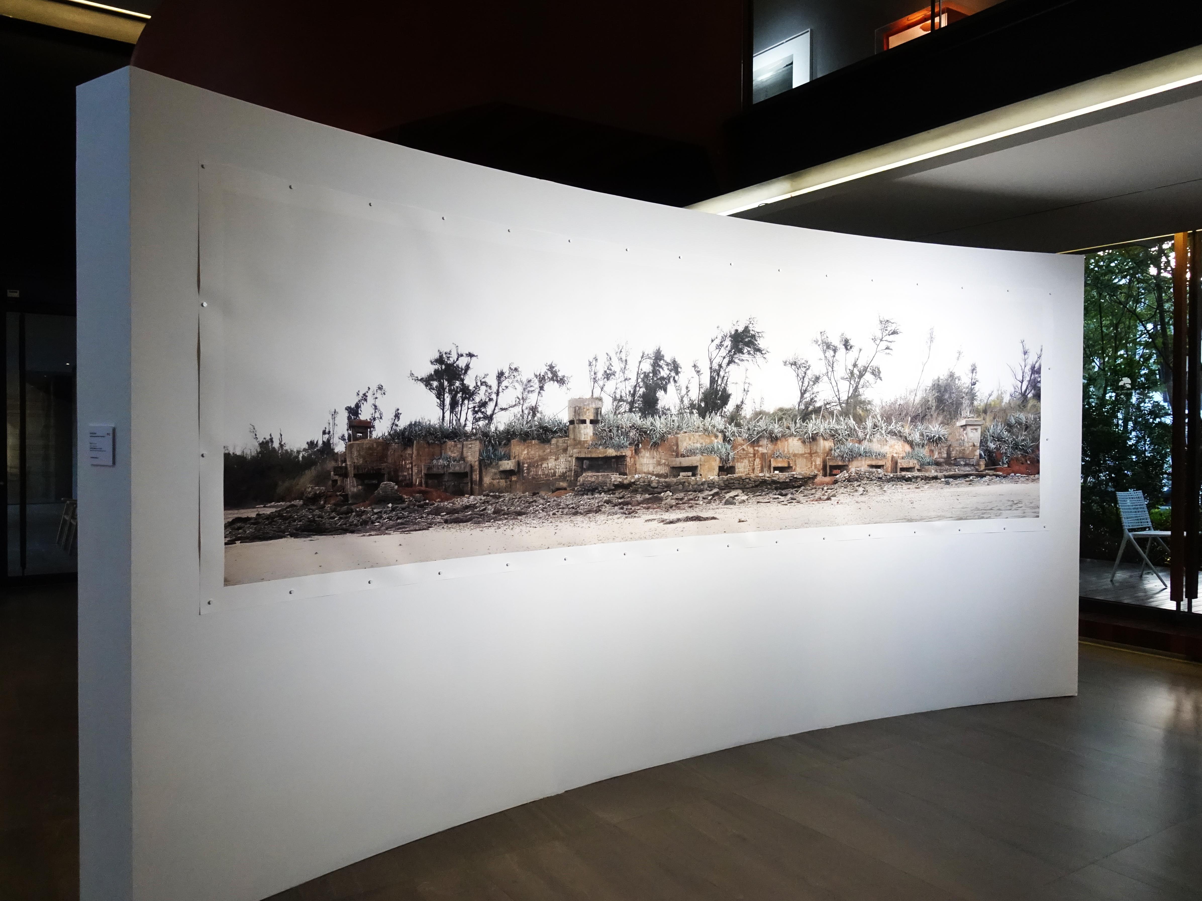陸府生活美學教育基金會展出『歷史造景』劉芸怡個展。