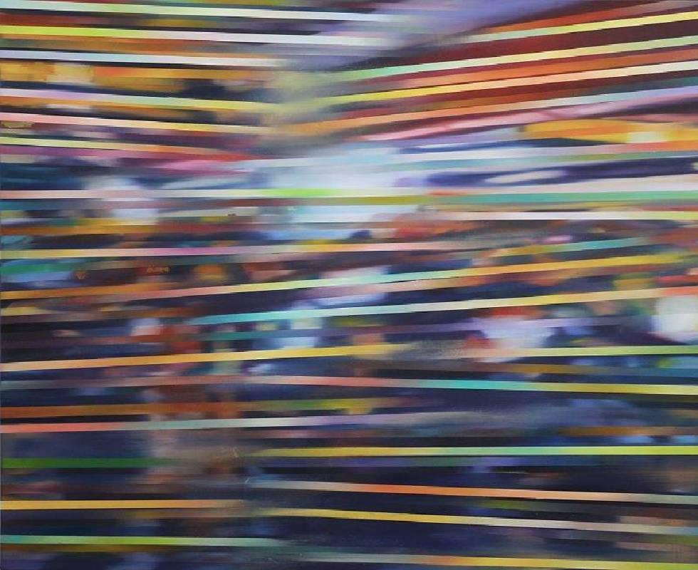 林文斌 Lin, Wen-Bin - 錯置 (二) Staggered (II)(2019 油彩、畫布 65 x 53 cm)(心動藝術空間 ART INFLUENCE)