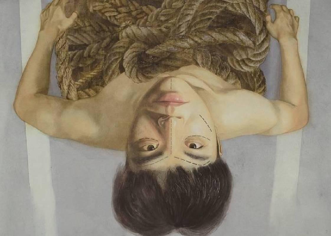 陳俊宇 Chen, Chun-Yu - 再製(2019 水彩、紙本 79 x 108cm)(心動藝術空間 ART INFLUENCE)