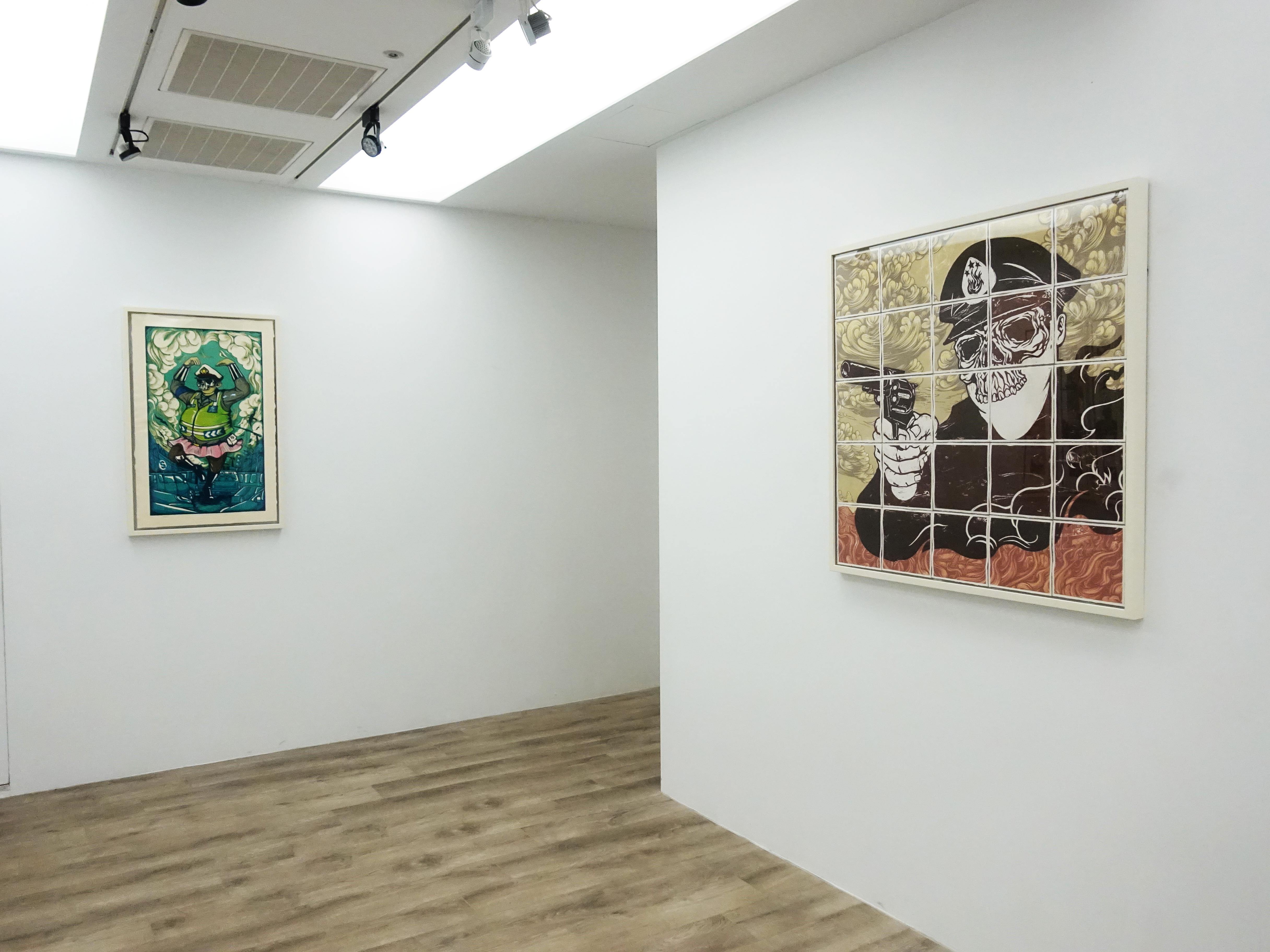 十方藝術空間展出印尼藝術家錫吉特・拉馬丹在台首次個展。