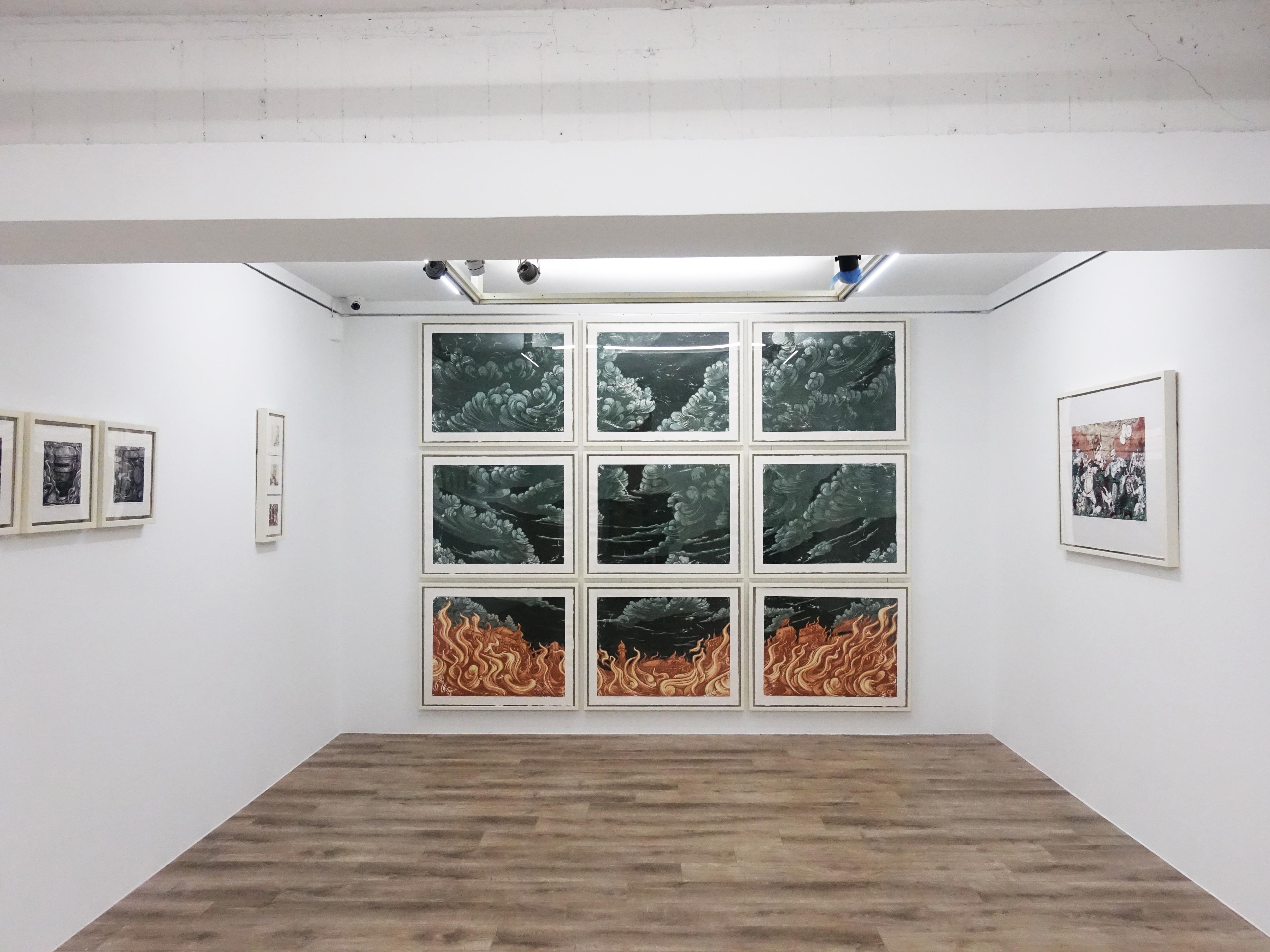印尼藝術家錫吉特・拉馬丹在台首次個展 「紅翼之牆」於十方藝術空間展出。