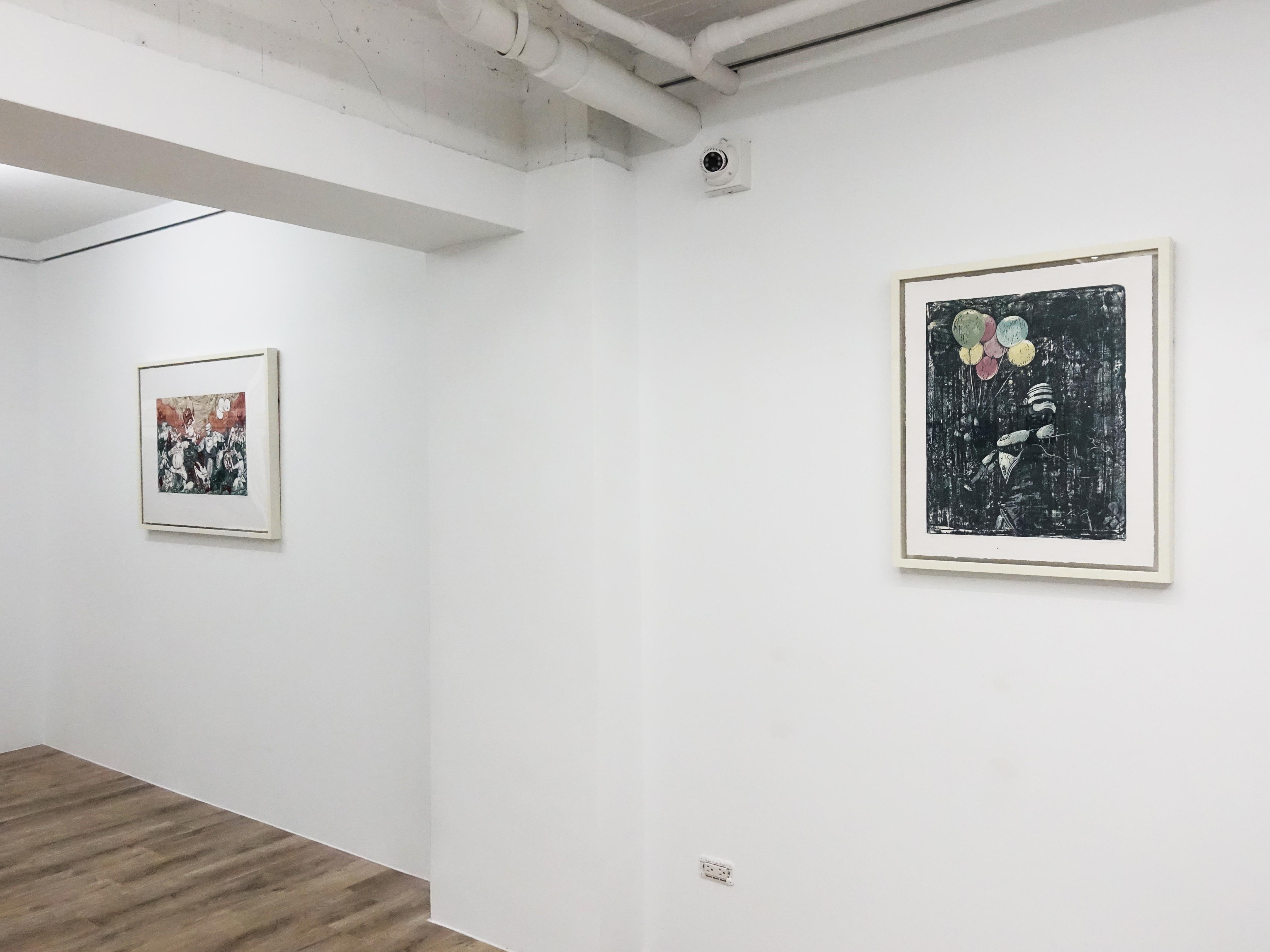 印尼藝術家錫吉特・拉馬丹個展 「紅翼之牆」於十方藝術空間展出。