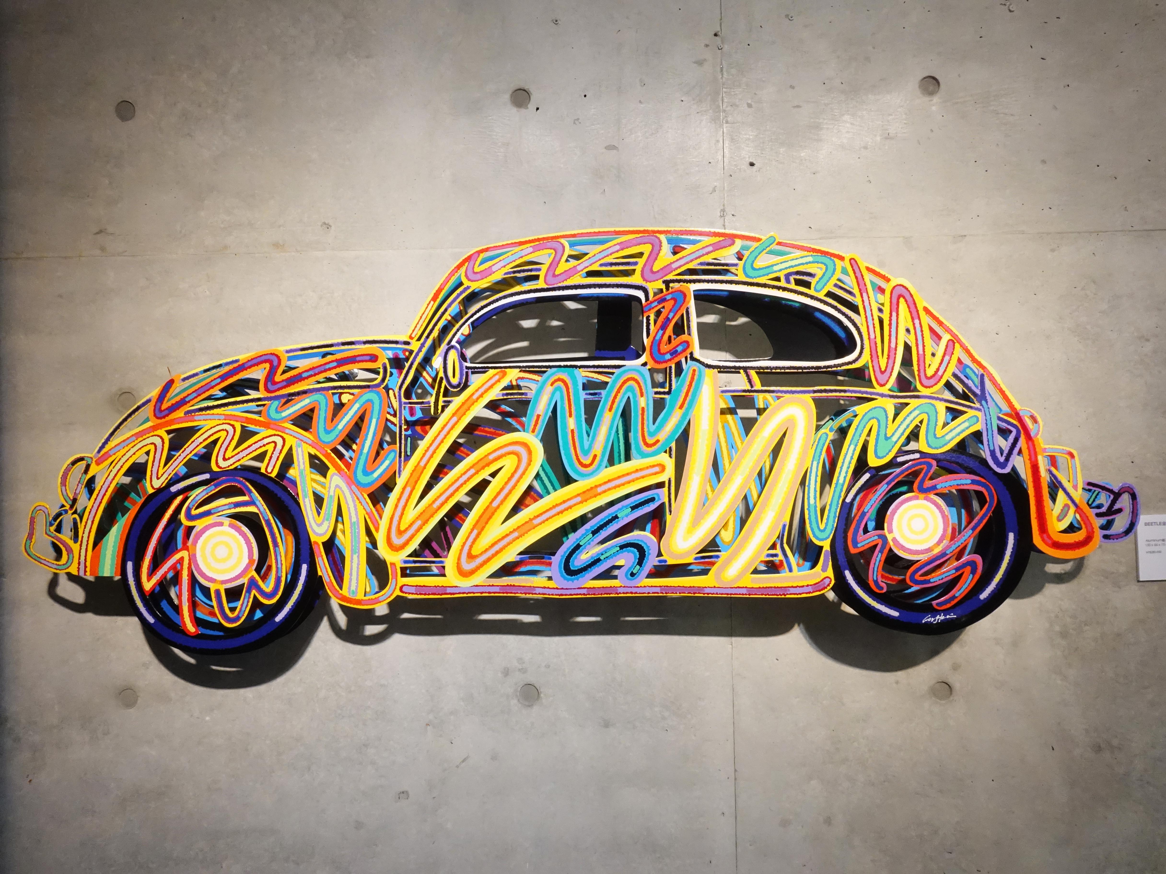 David Gerstein,《Beetle》,150 x 56 x 15 cm,Aluminum鋁3層,2010。
