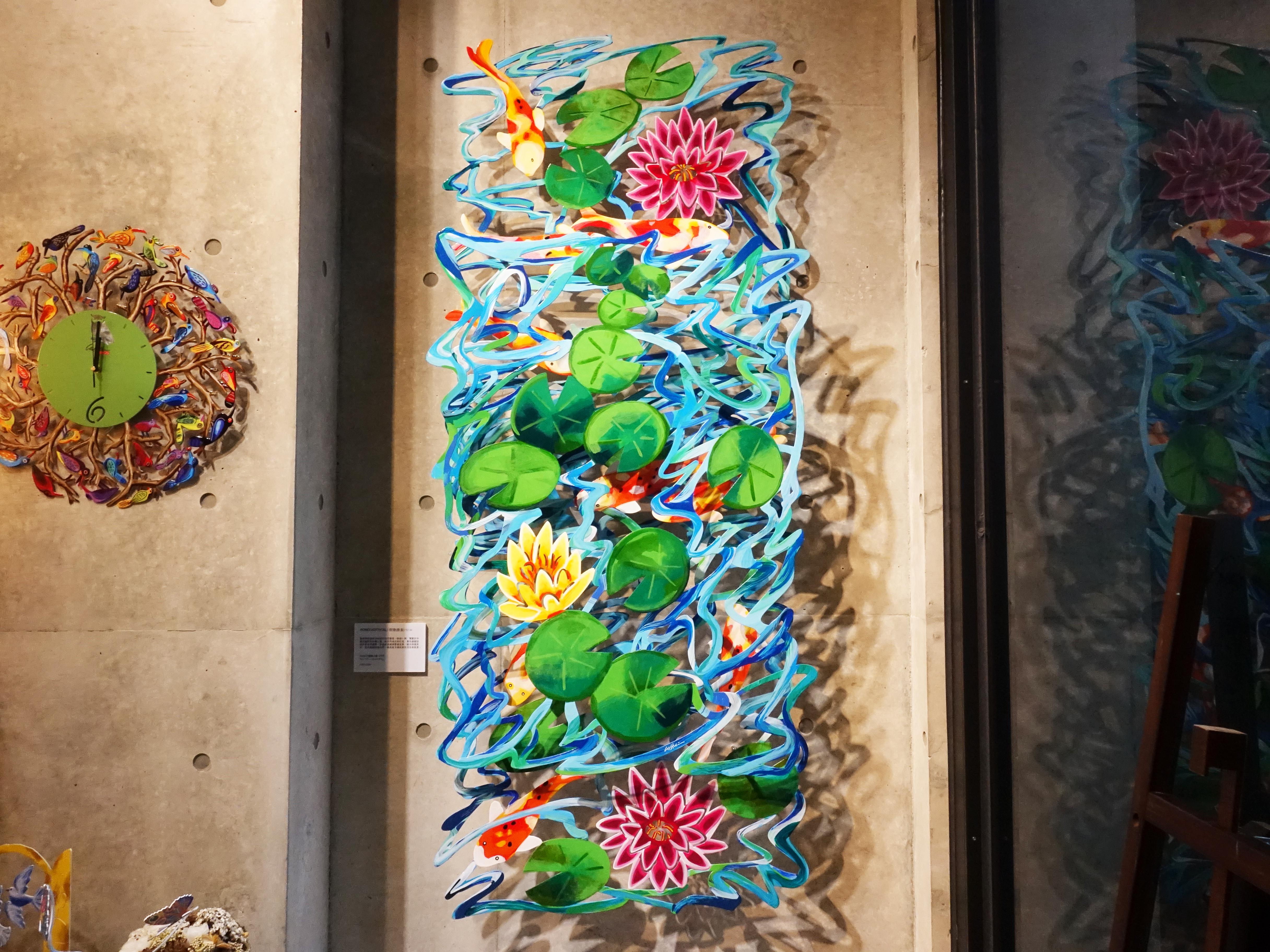 David Gerstein,《POND(Vertical)》,74 x 171 x 15 cm,Steel不鏽鋼3層,2008。