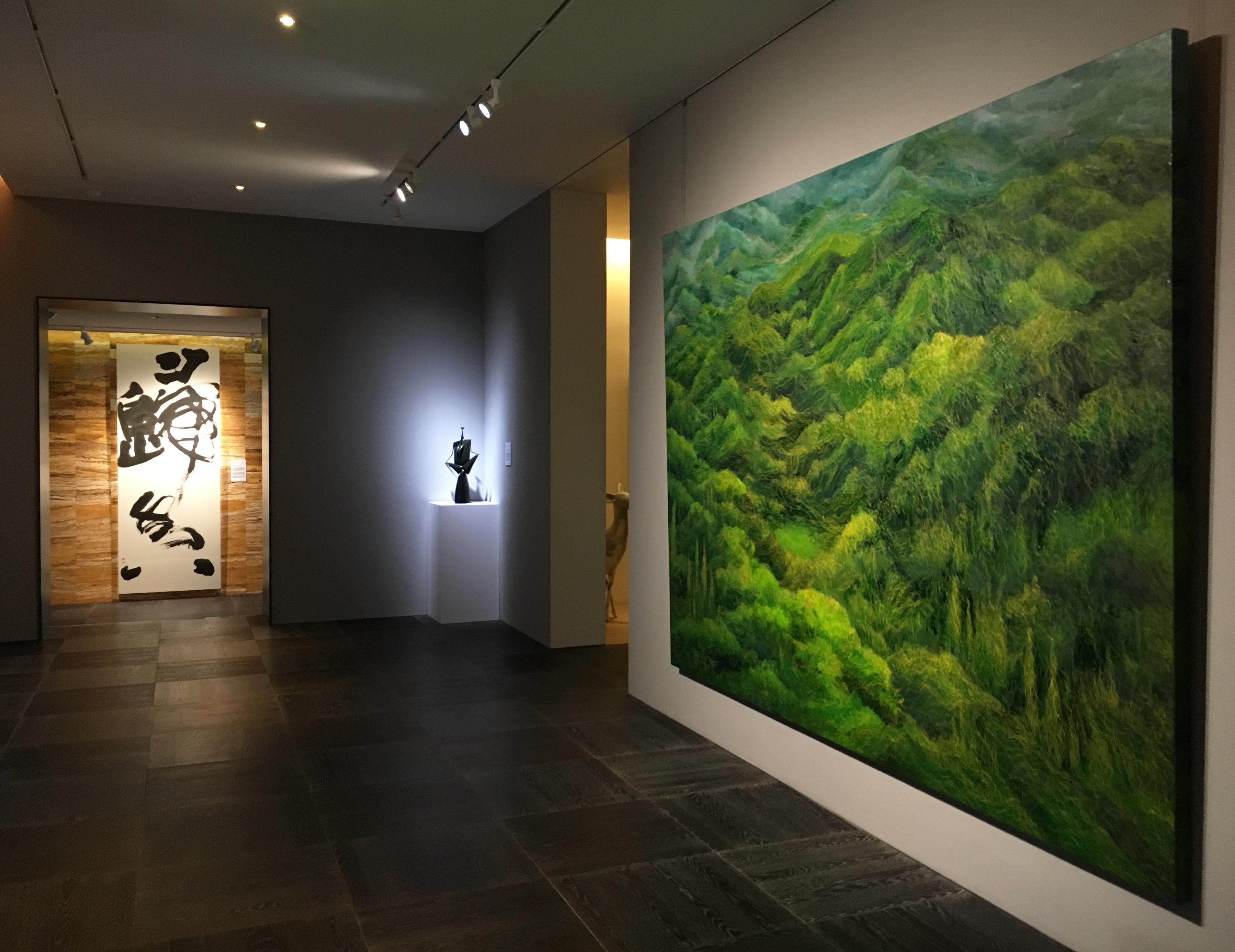陸府典藏展『後來』二樓展場。