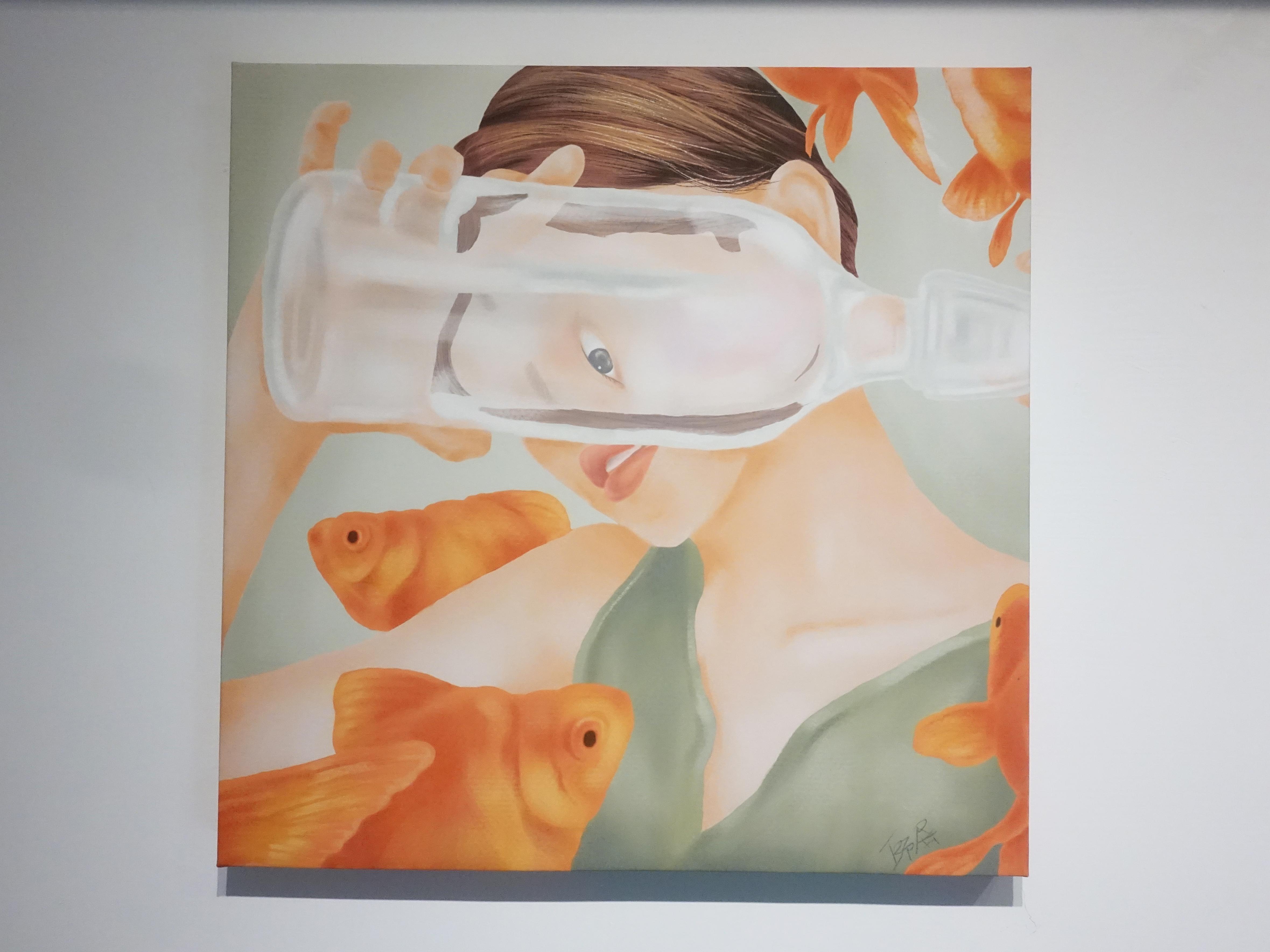 連師屏,《自由是》,數位繪圖,50 x 50 cm 1/10,2019。