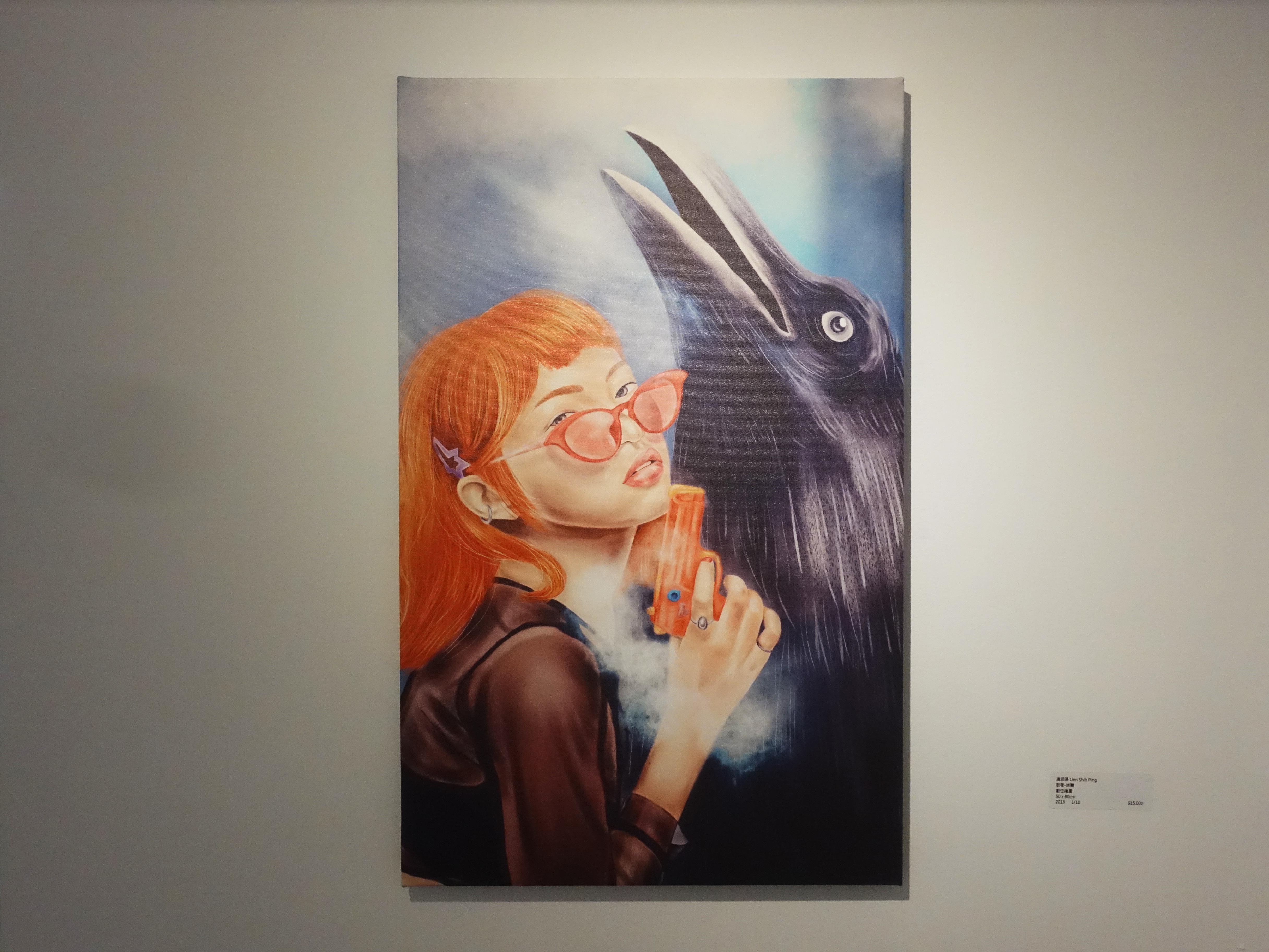 連師屏,《啟程-迷霧》,數位繪圖,50 x 80 cm 1/10,2019。