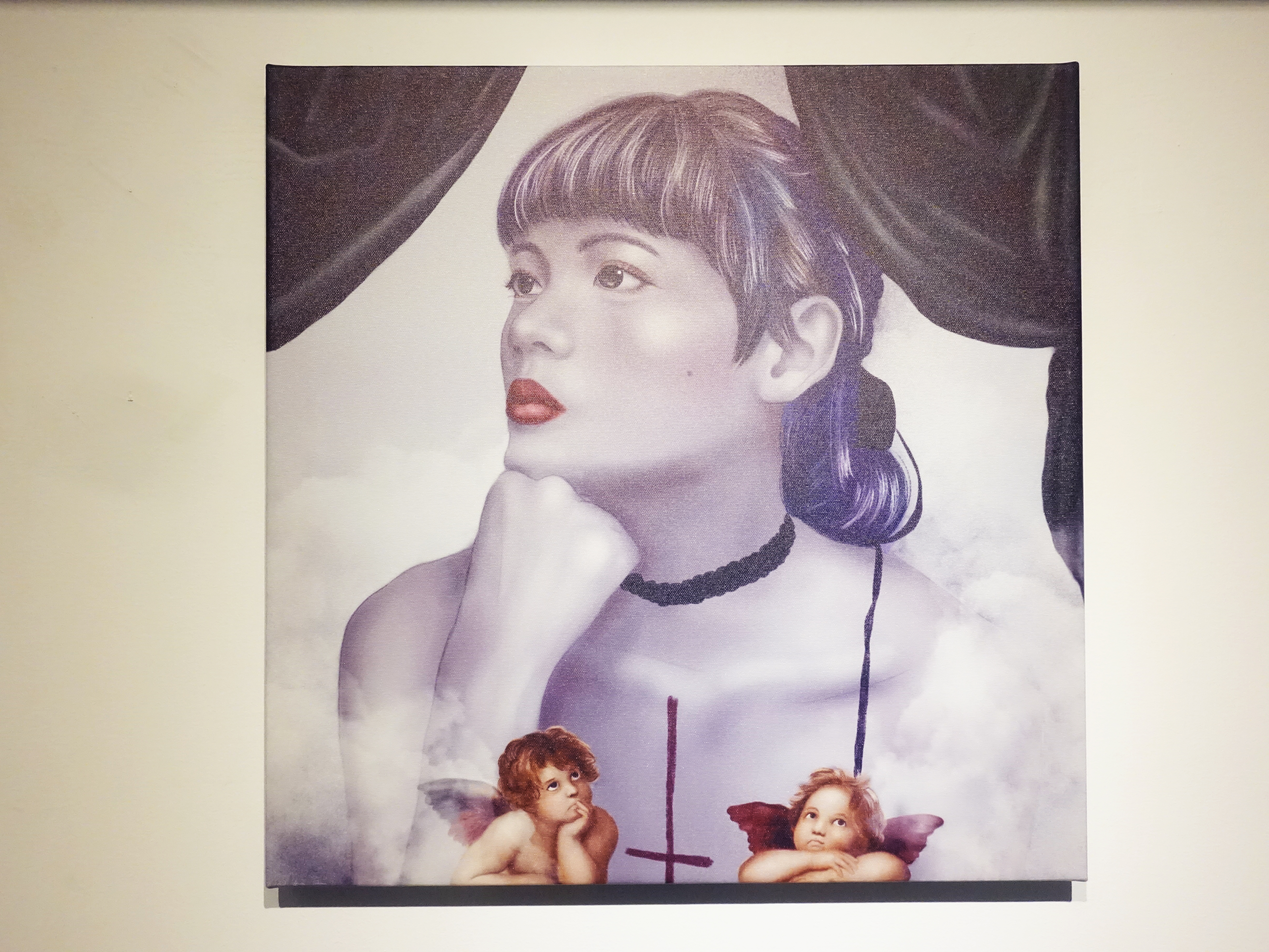 連師屏,《視角》,數位繪圖,50 x 50 cm 1/10,2019。