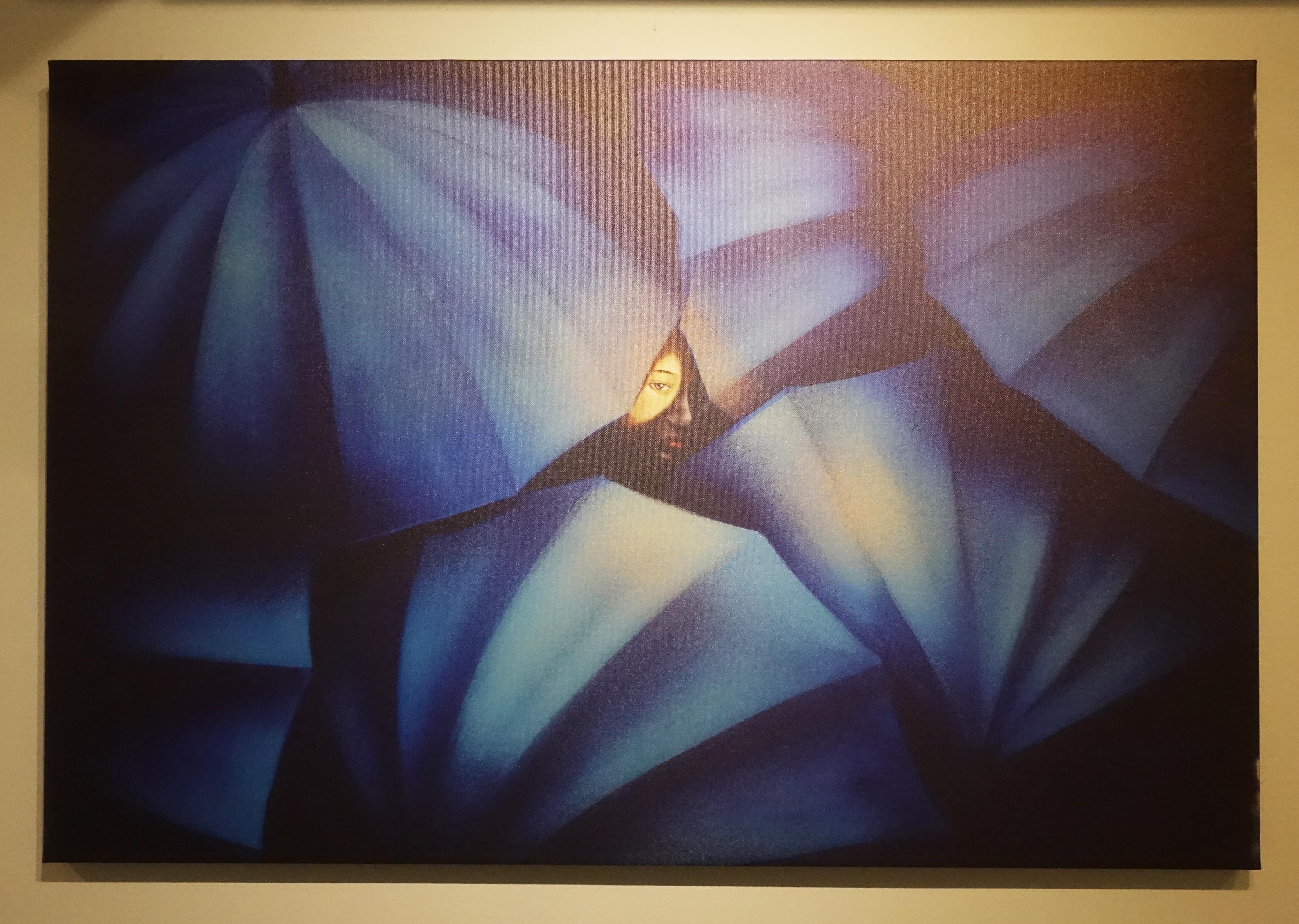 連師屏,《光明》,數位繪圖,90 x 60 cm 1/10,2019。