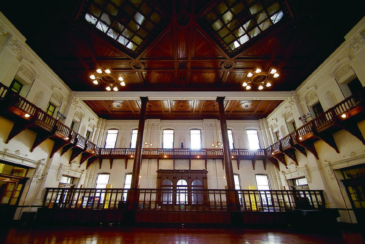 會場一_京都文化博物館別館內部