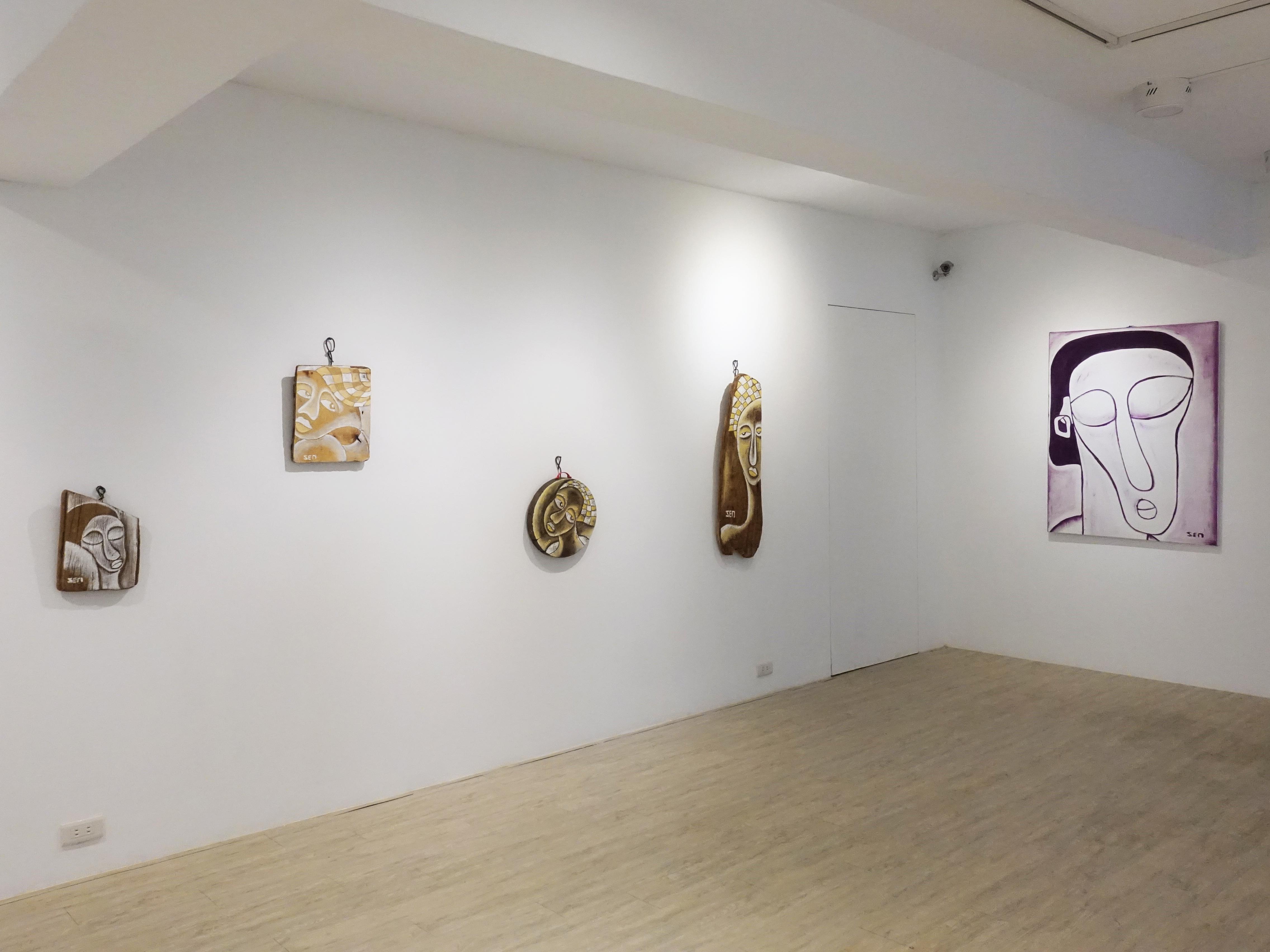 藝術家楊樹森「漂」創作個展展覽空間。