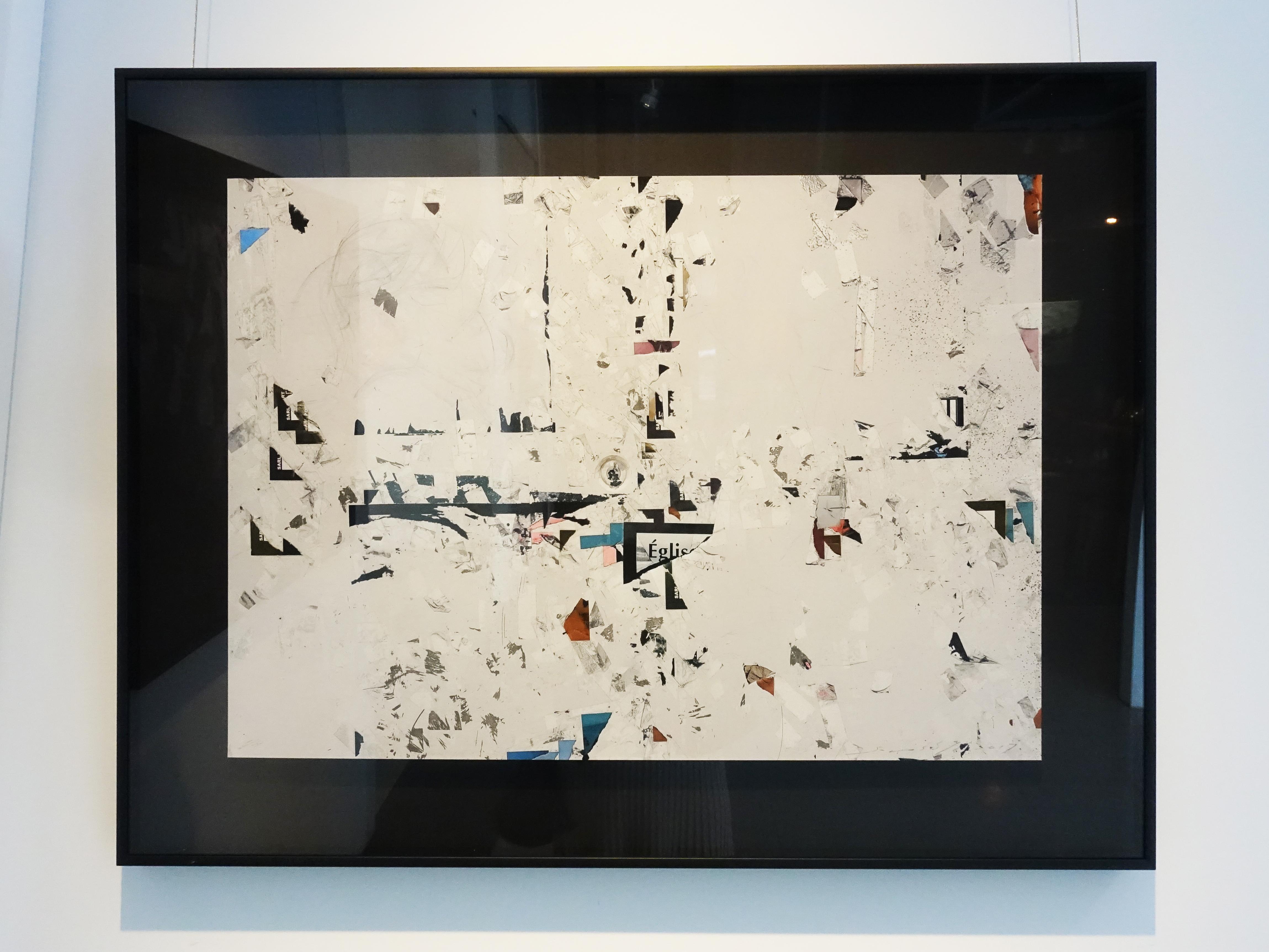 小山俊孝,《後當代表現主義#28_W》,24 x 17 in,攝影、無酸藝術紙,2017。