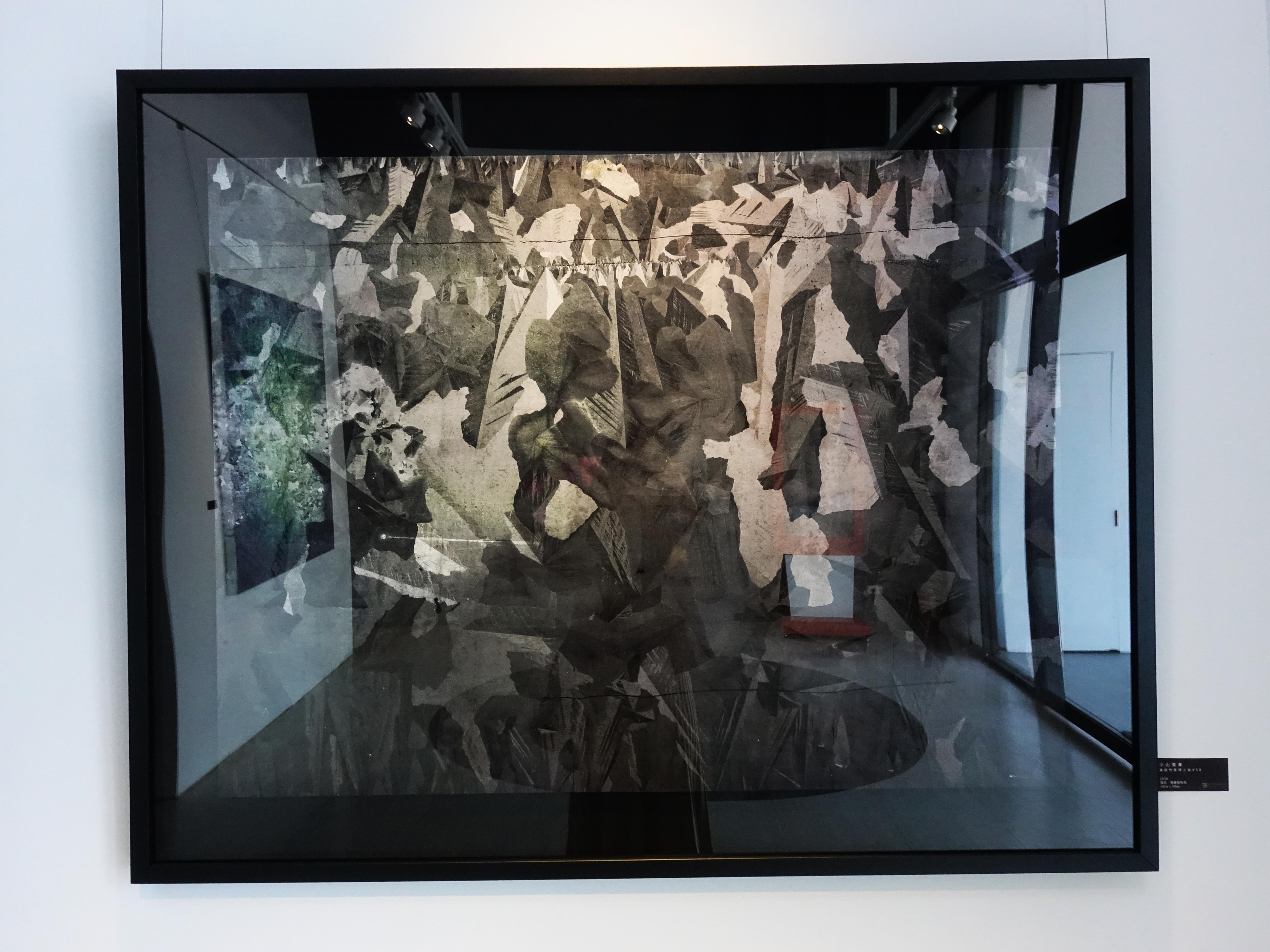小山俊孝,《後當代表現主義#50》,40 x 30 in,攝影、無酸藝術紙,2018。