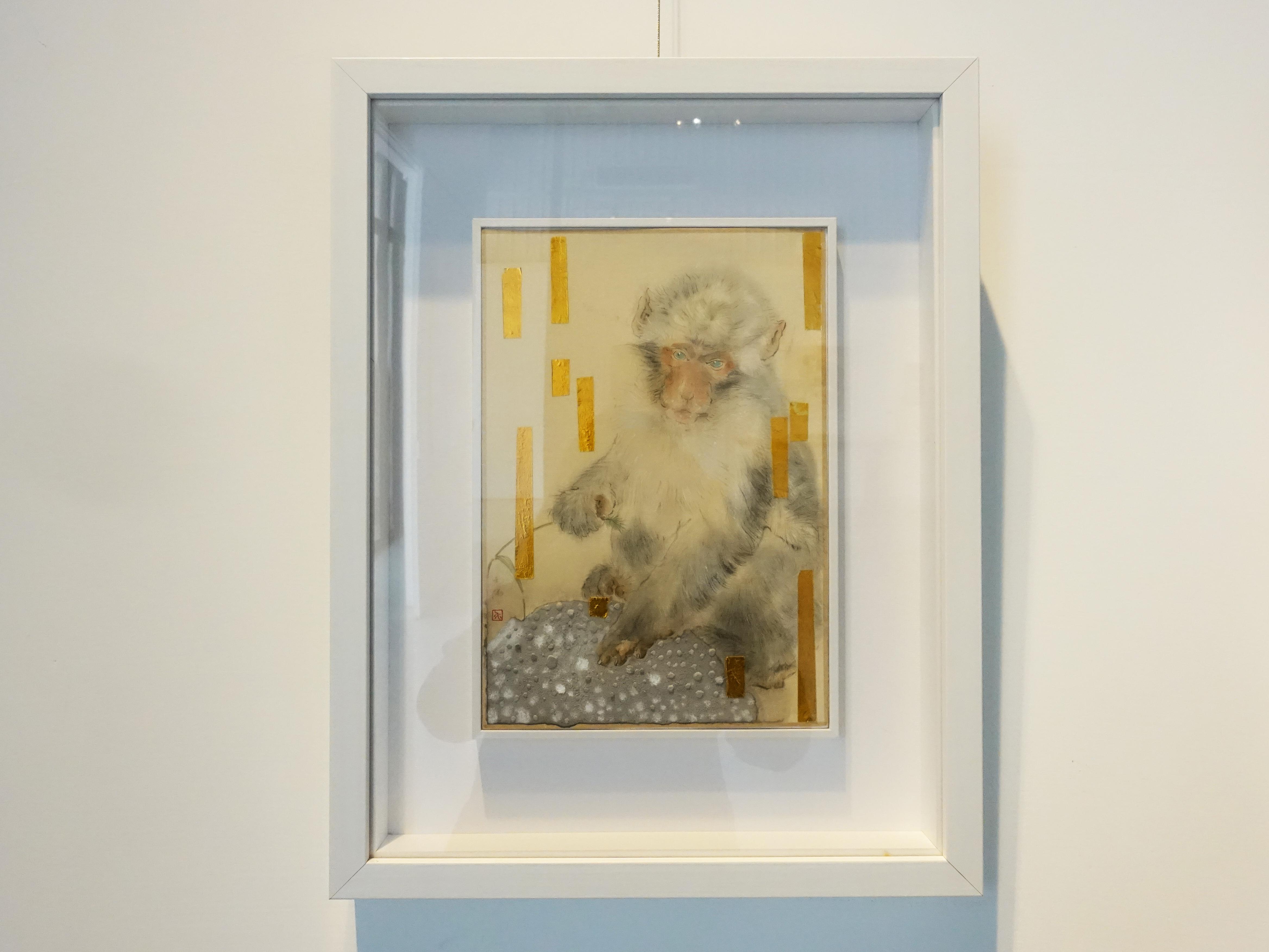 方志偉,《光年》,29 x 20 cm,絹本設色,2019。