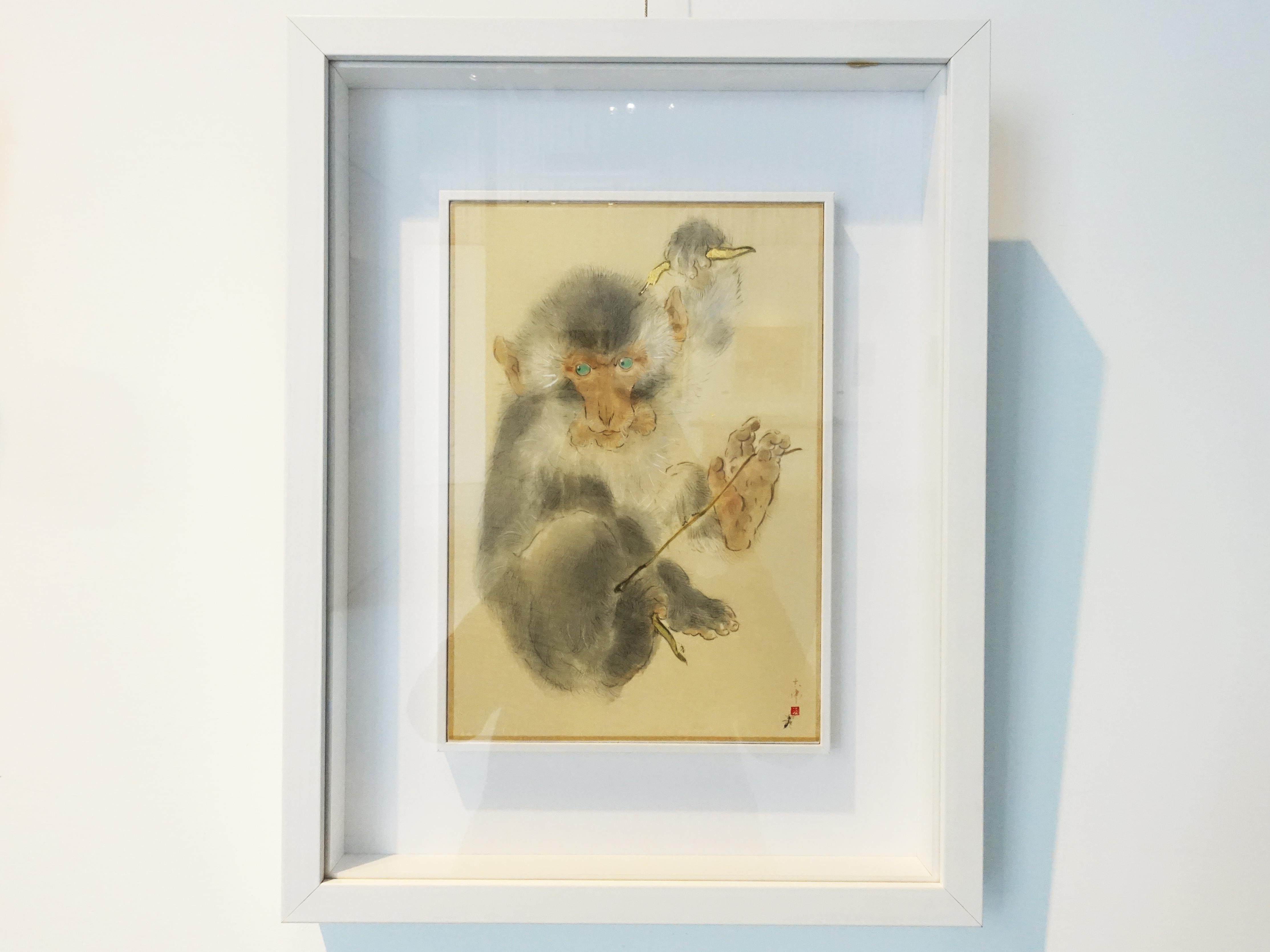 方志偉,《你不知道的事》,29 x 20 cm,絹本設色,2019。