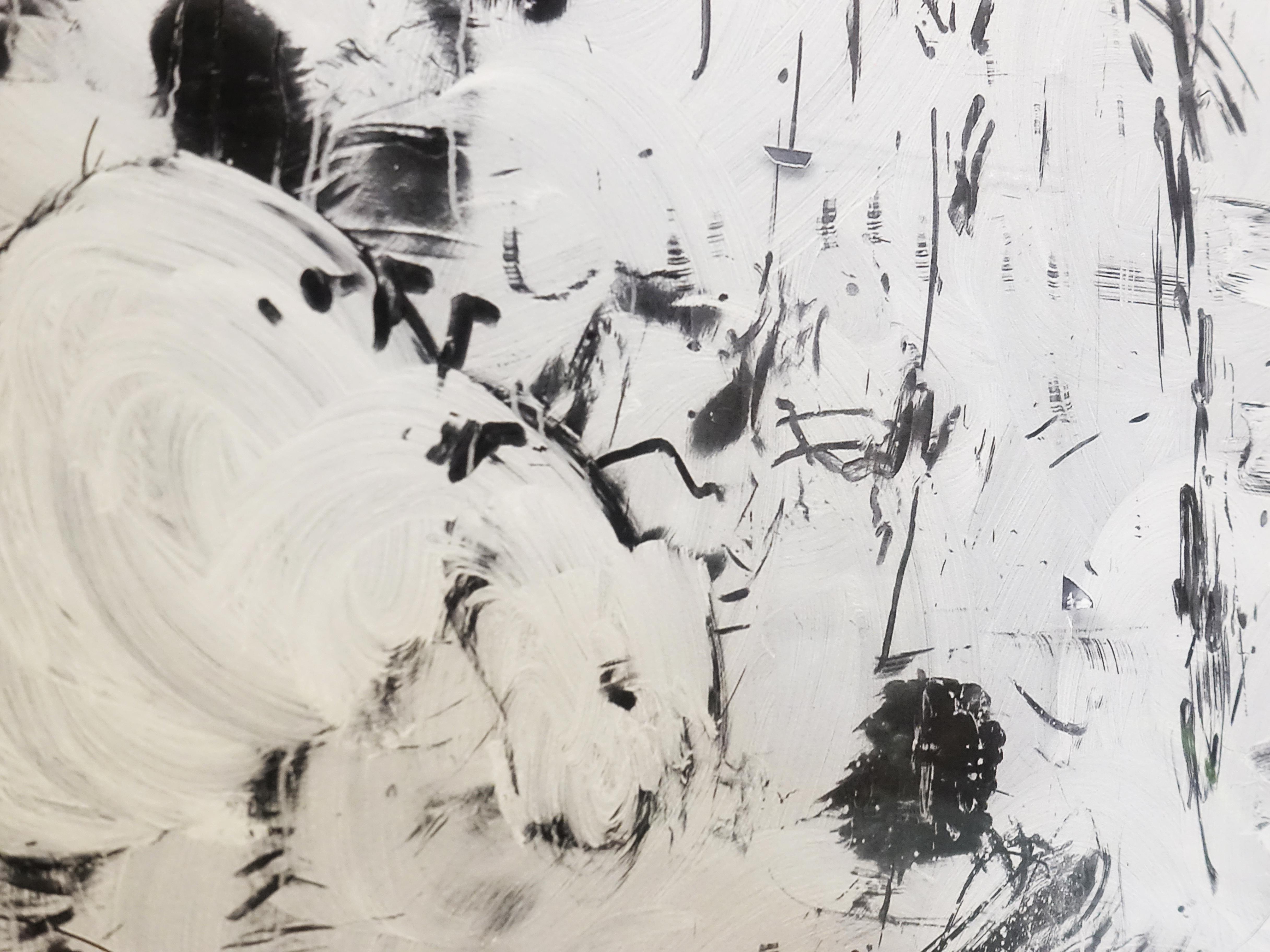 小山俊孝,《後當代表現主義#31》細節,24 x 16 in,攝影、無酸藝術紙,2017。