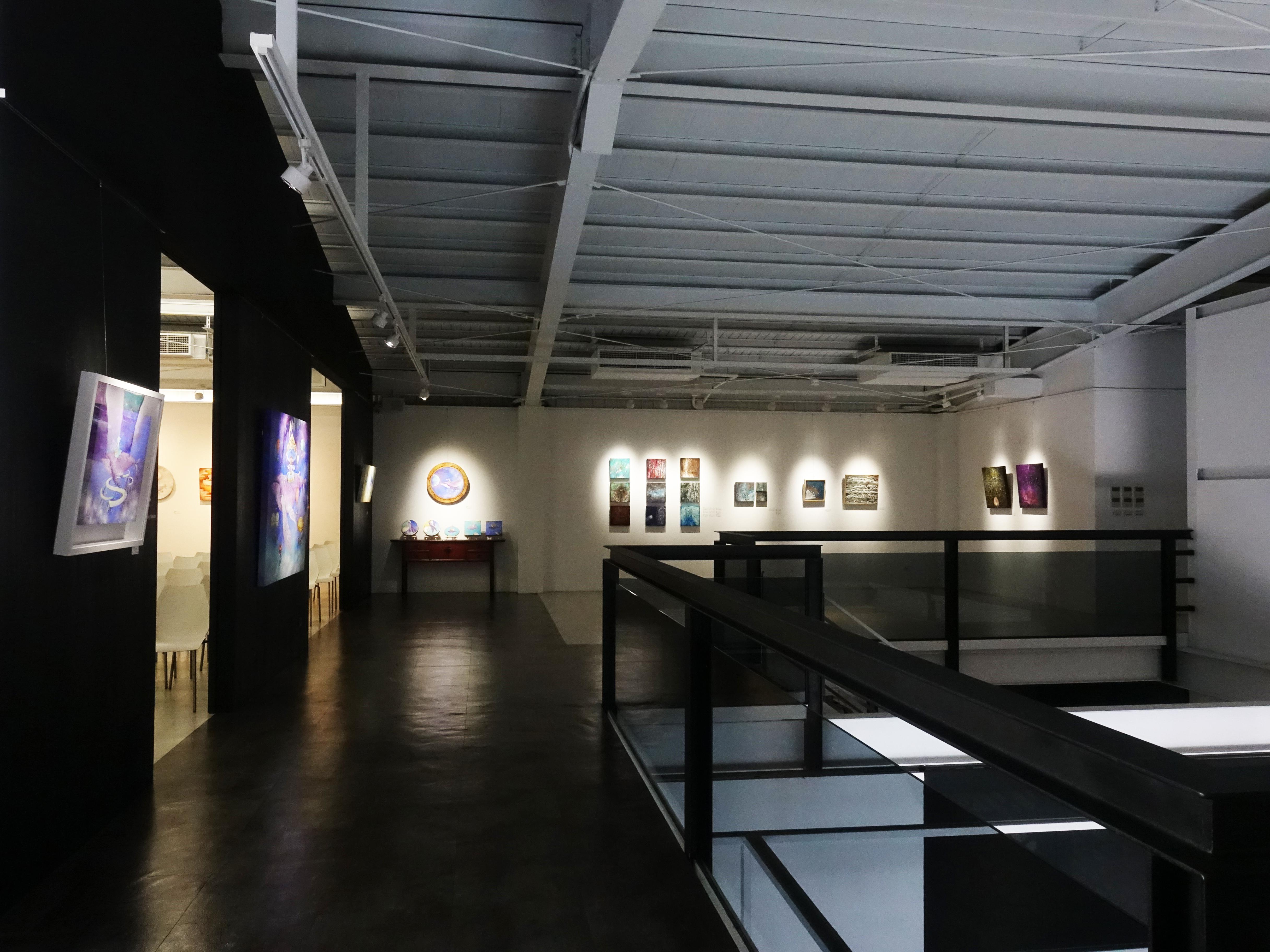 新藝藝術中心二樓展覽空間。